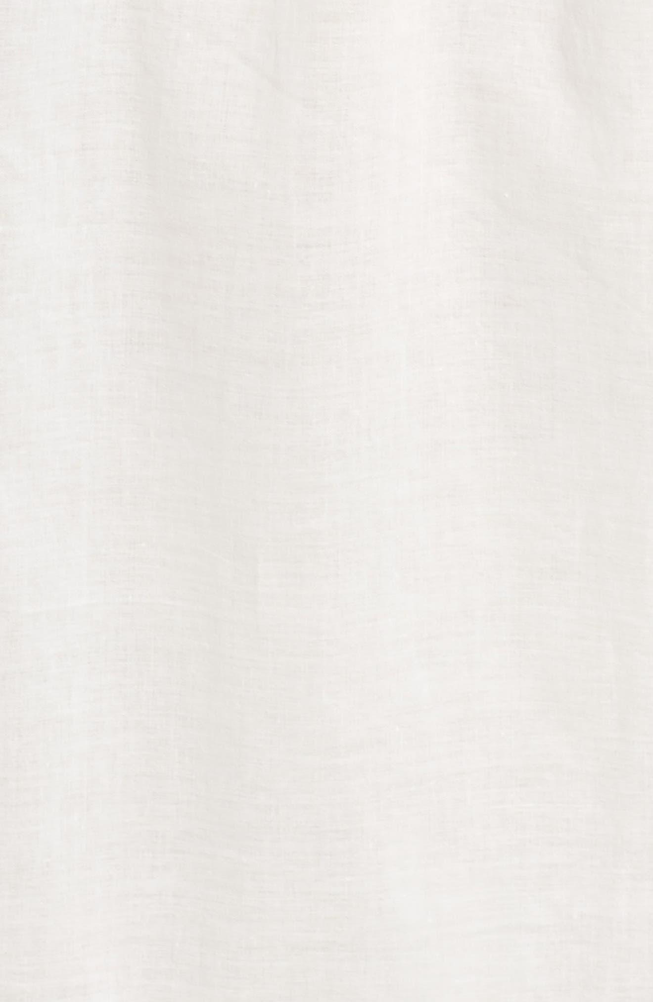 Short Lawn Nightgown,                             Alternate thumbnail 5, color,                             100