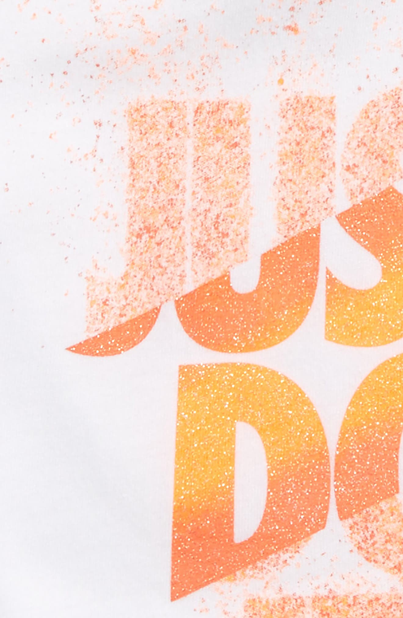 Just Do It Splice Graphic Tee,                             Alternate thumbnail 2, color,                             100