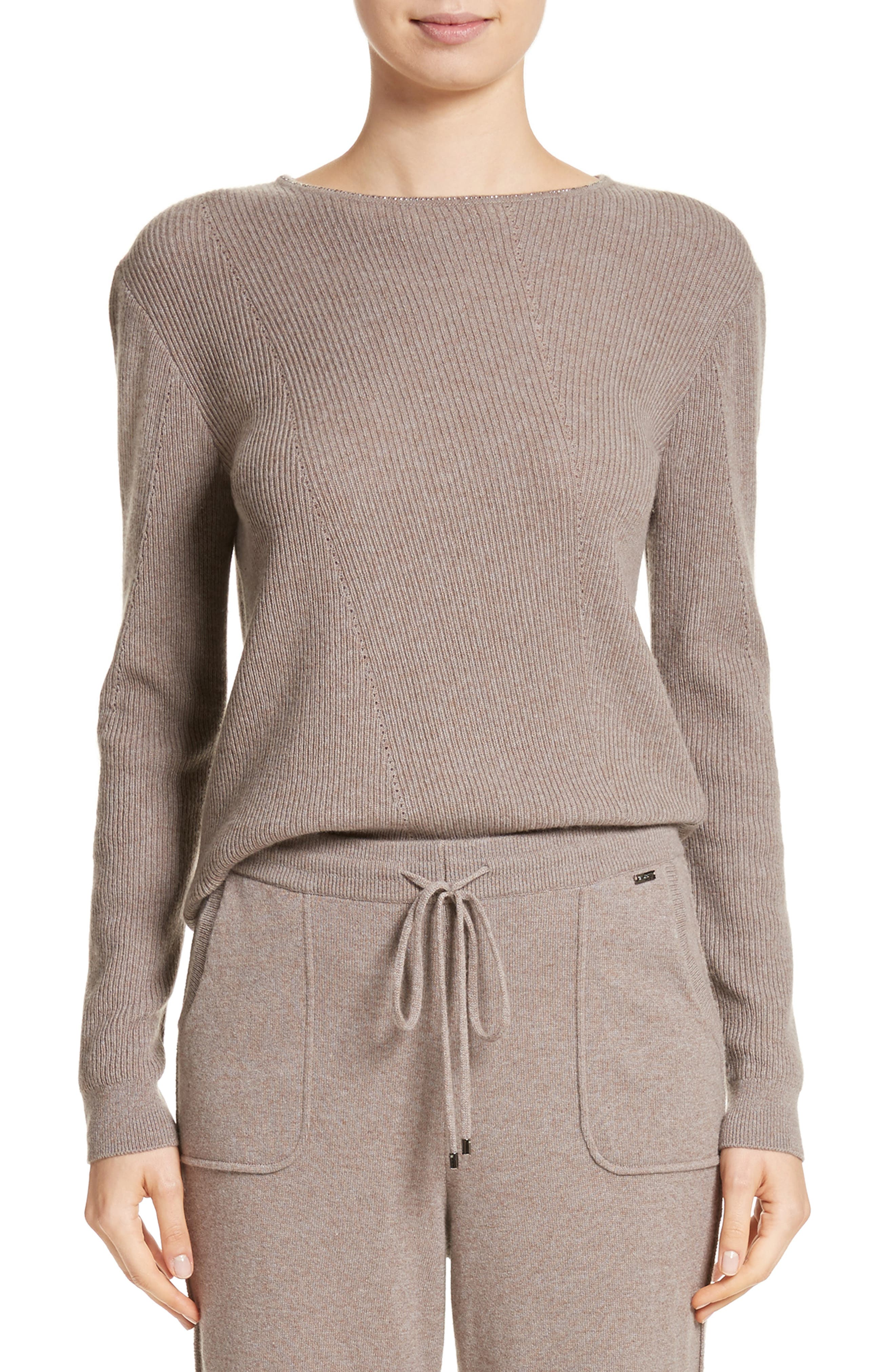 Cashmere Sweater,                         Main,                         color, 030