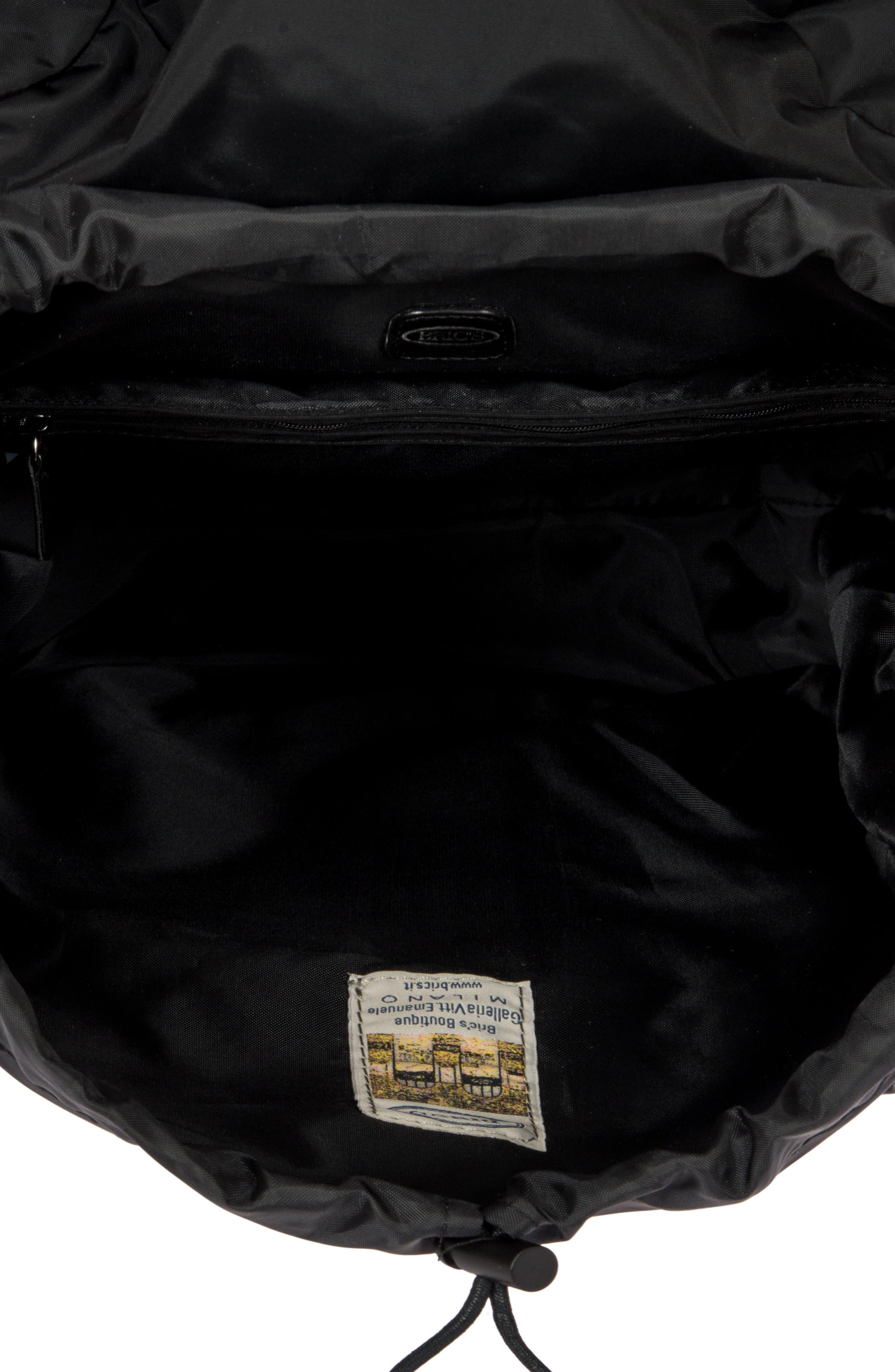 X-Bag Travel Excursion Backpack,                             Alternate thumbnail 3, color,                             BLACK/ BLACK