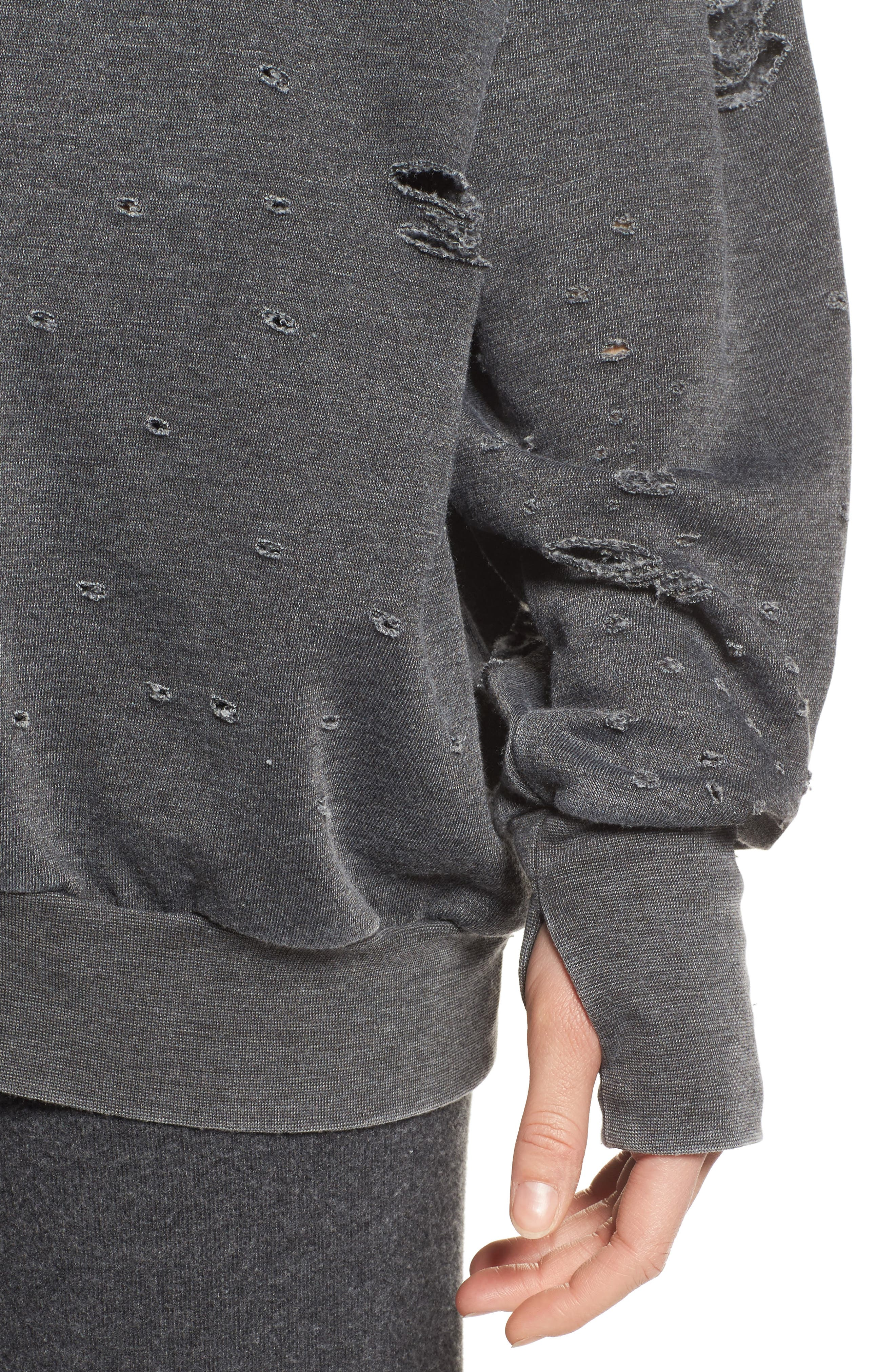 Thrasher Sweatshirt,                             Alternate thumbnail 4, color,                             020