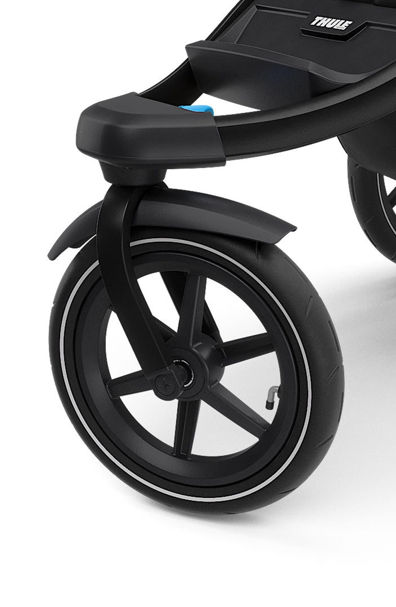 THULE,                             Urban Glide 2 Jogging Stroller with Black Frame,                             Alternate thumbnail 5, color,                             006