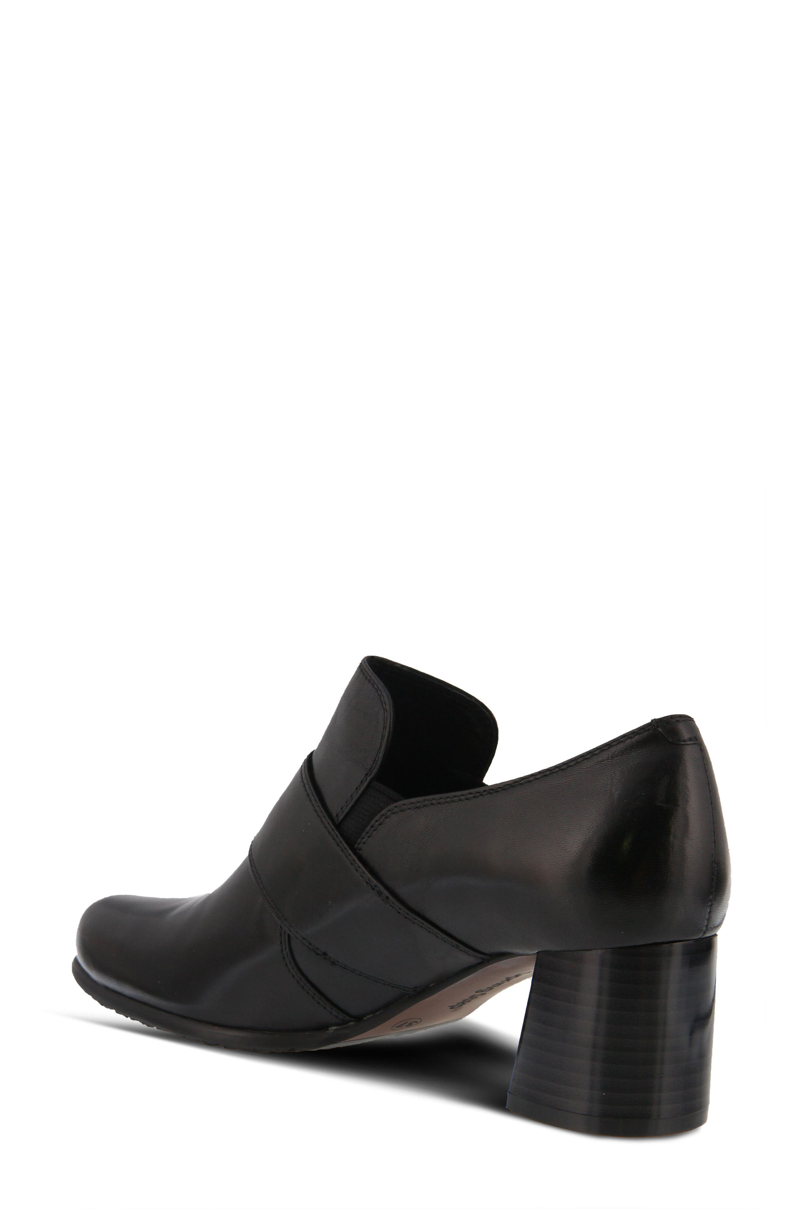 Dayana Bootie,                             Alternate thumbnail 2, color,                             BLACK LEATHER