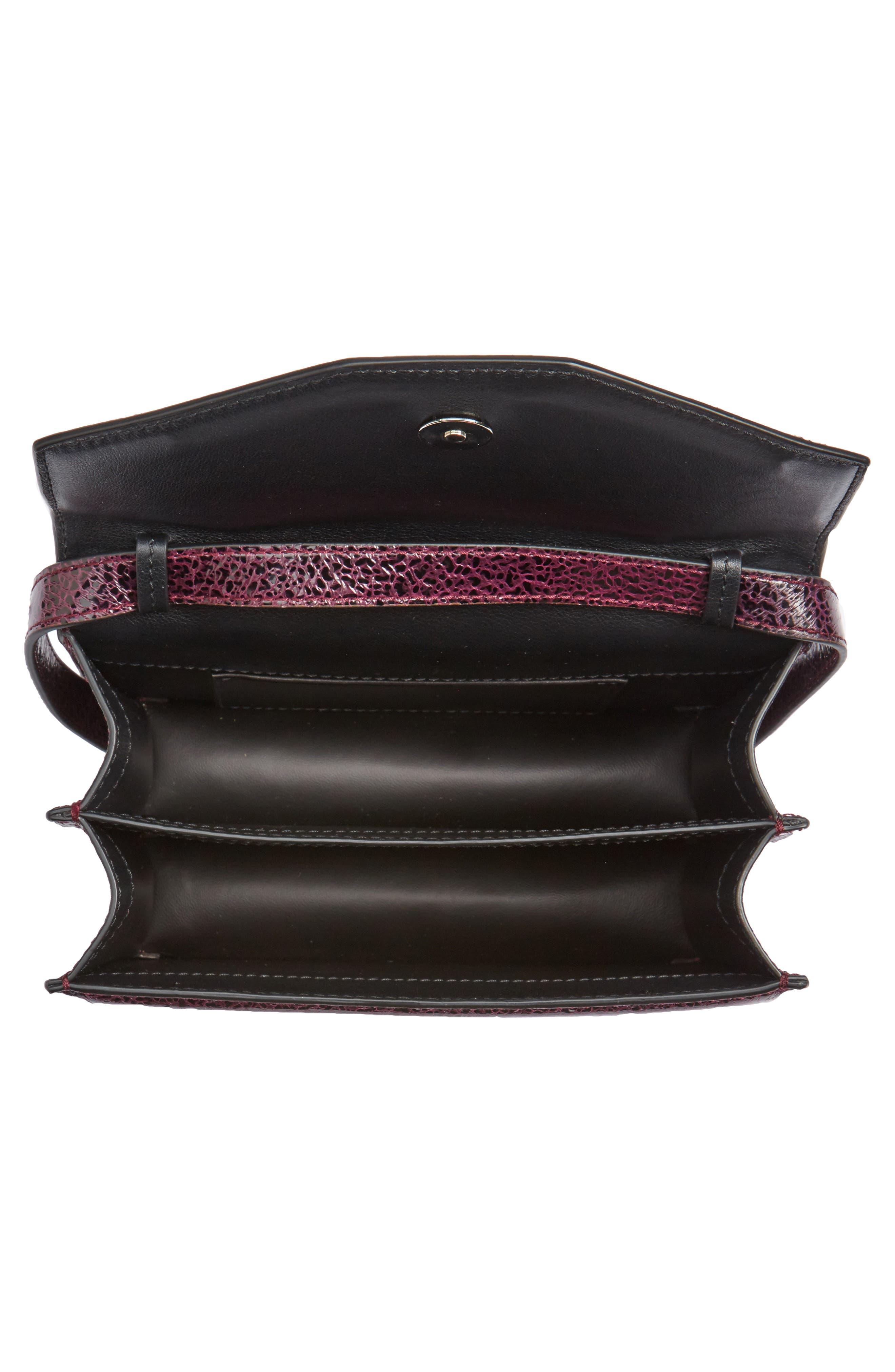 Indre Leather Shoulder Bag,                             Alternate thumbnail 4, color,                             930