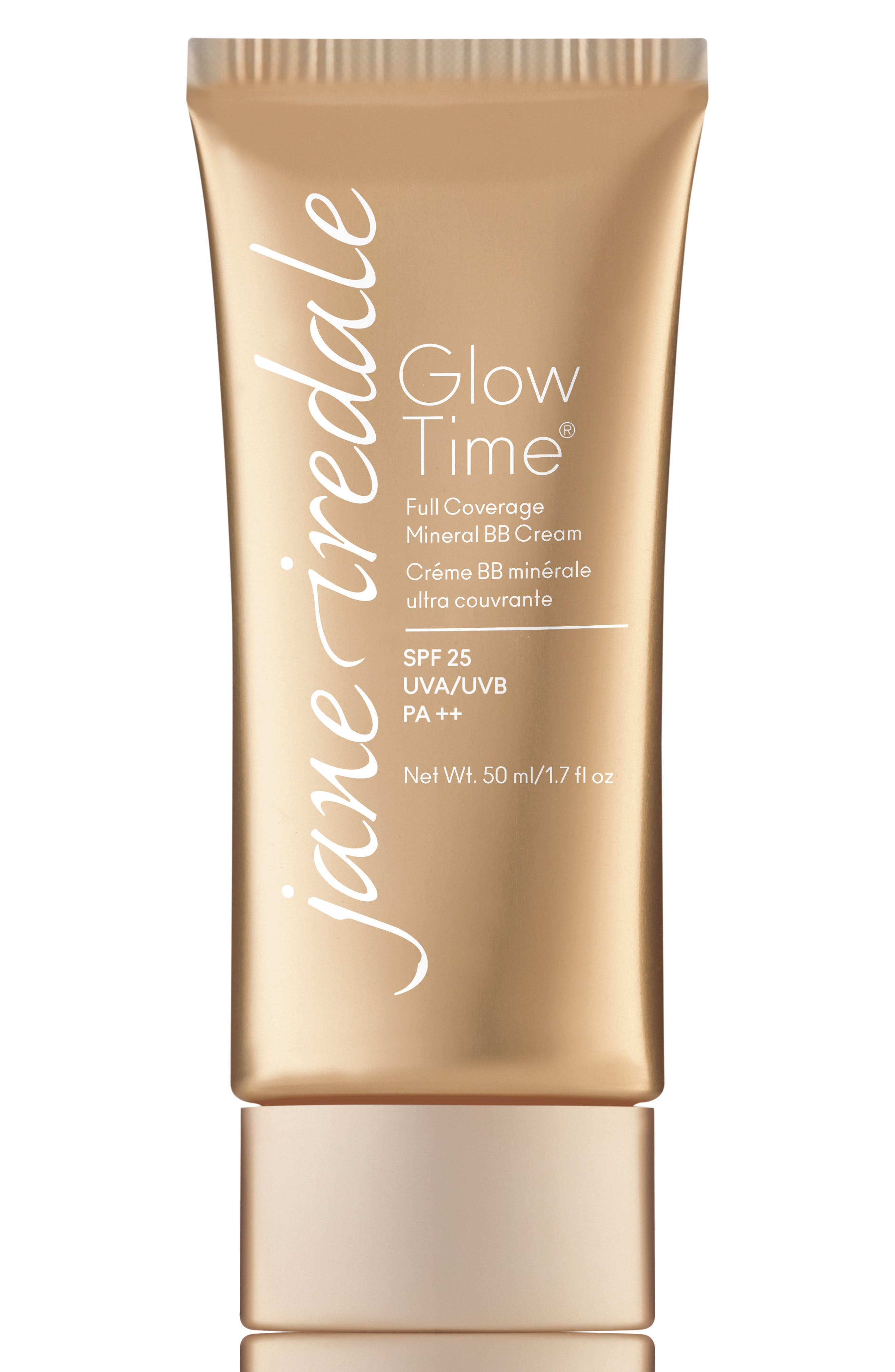 Glow Time Full Coverage Mineral BB Cream Broad Spectrum SPF 25,                             Main thumbnail 1, color,                             BB12