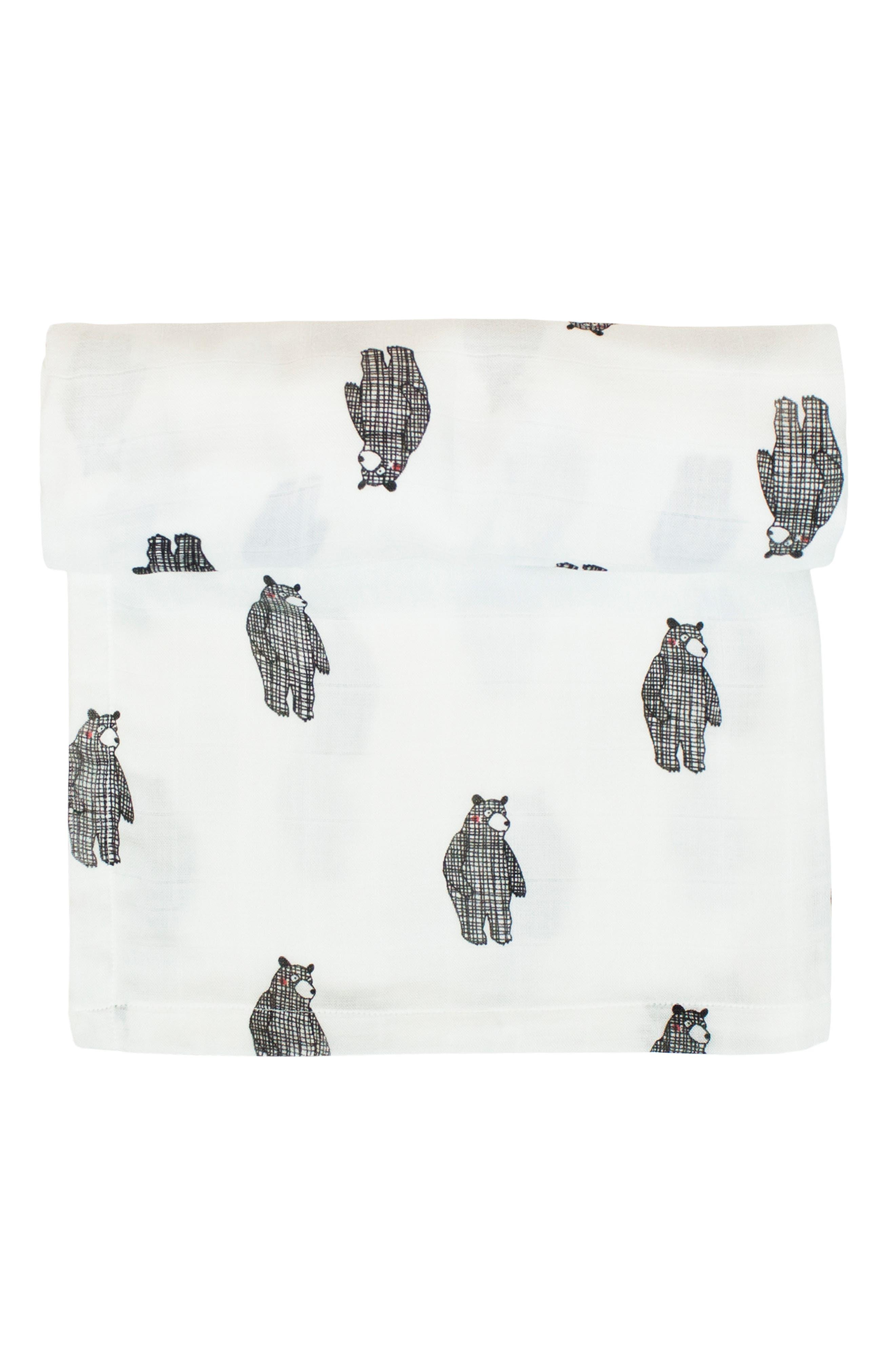2-Pack Cuddle Blankets,                             Alternate thumbnail 6, color,                             BIG BEAR/ MONO BIRDS