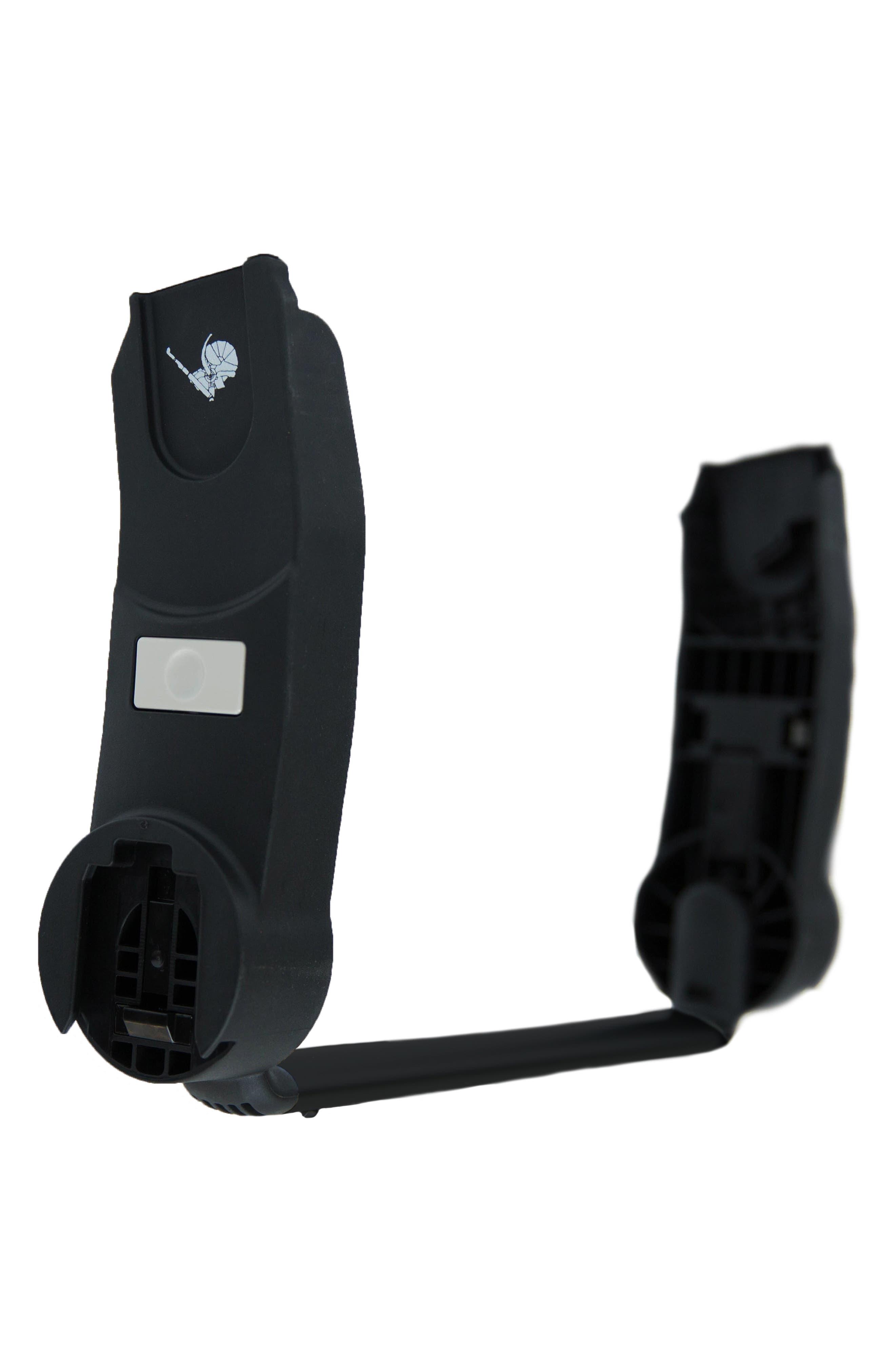 HUB Stroller to Maxi Cosi/Nuna/Aton/Cybex/CabrioFix Infant Car Seat Adapter,                             Main thumbnail 1, color,                             BLACK