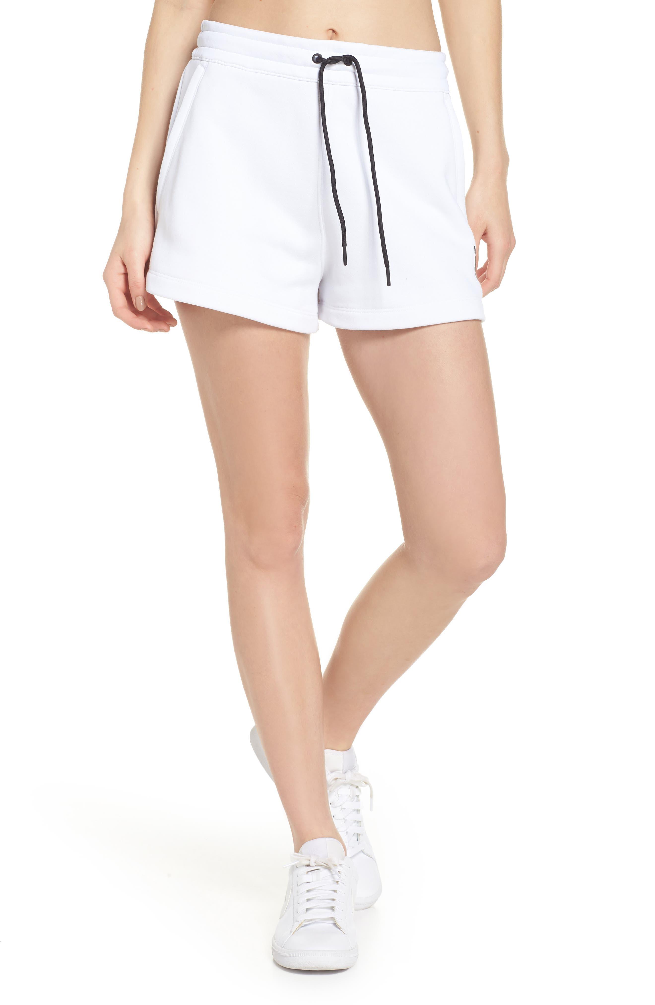 NikeLab Collection Women's Fleece Shorts,                         Main,                         color, 100