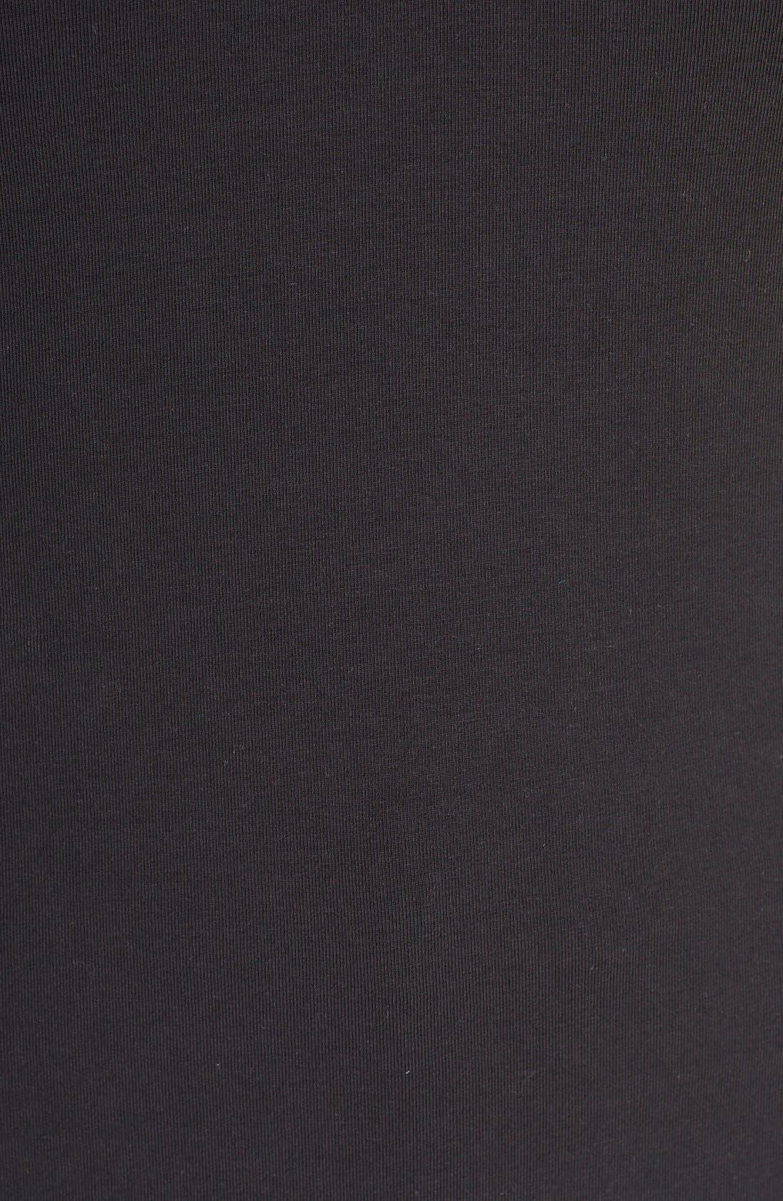 'Sweet Pleat' Sleeveless Top,                             Alternate thumbnail 4, color,                             BLACK ONYX