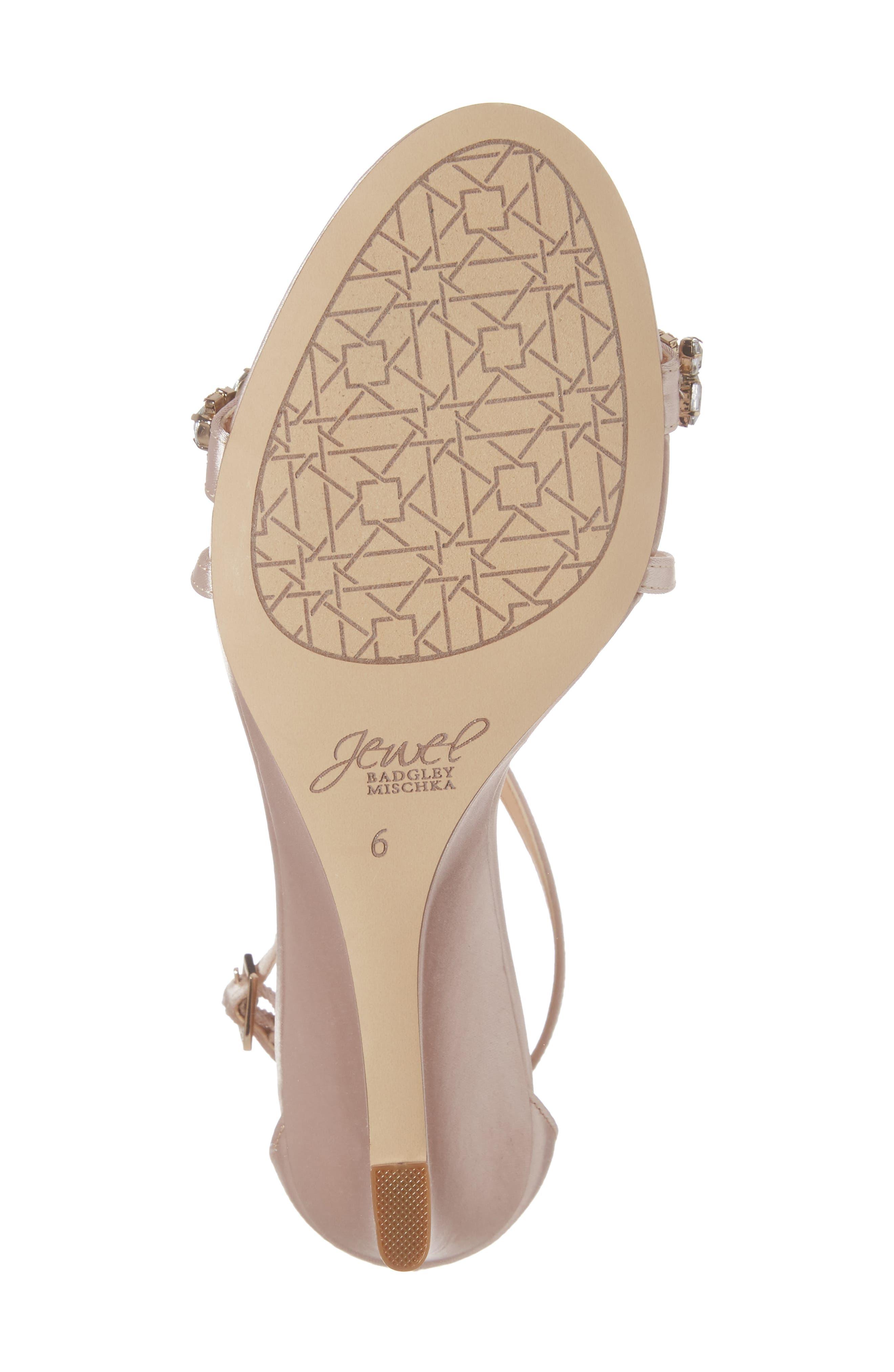 Embellished Strappy Wedge Sandal,                             Alternate thumbnail 18, color,