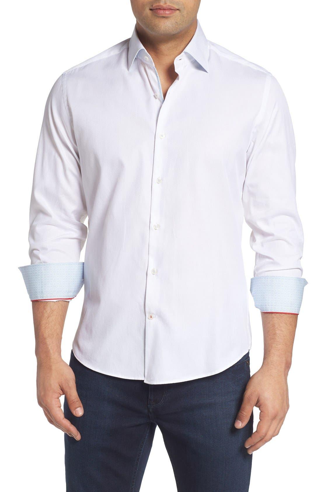 Textured Sport Shirt,                             Main thumbnail 3, color,