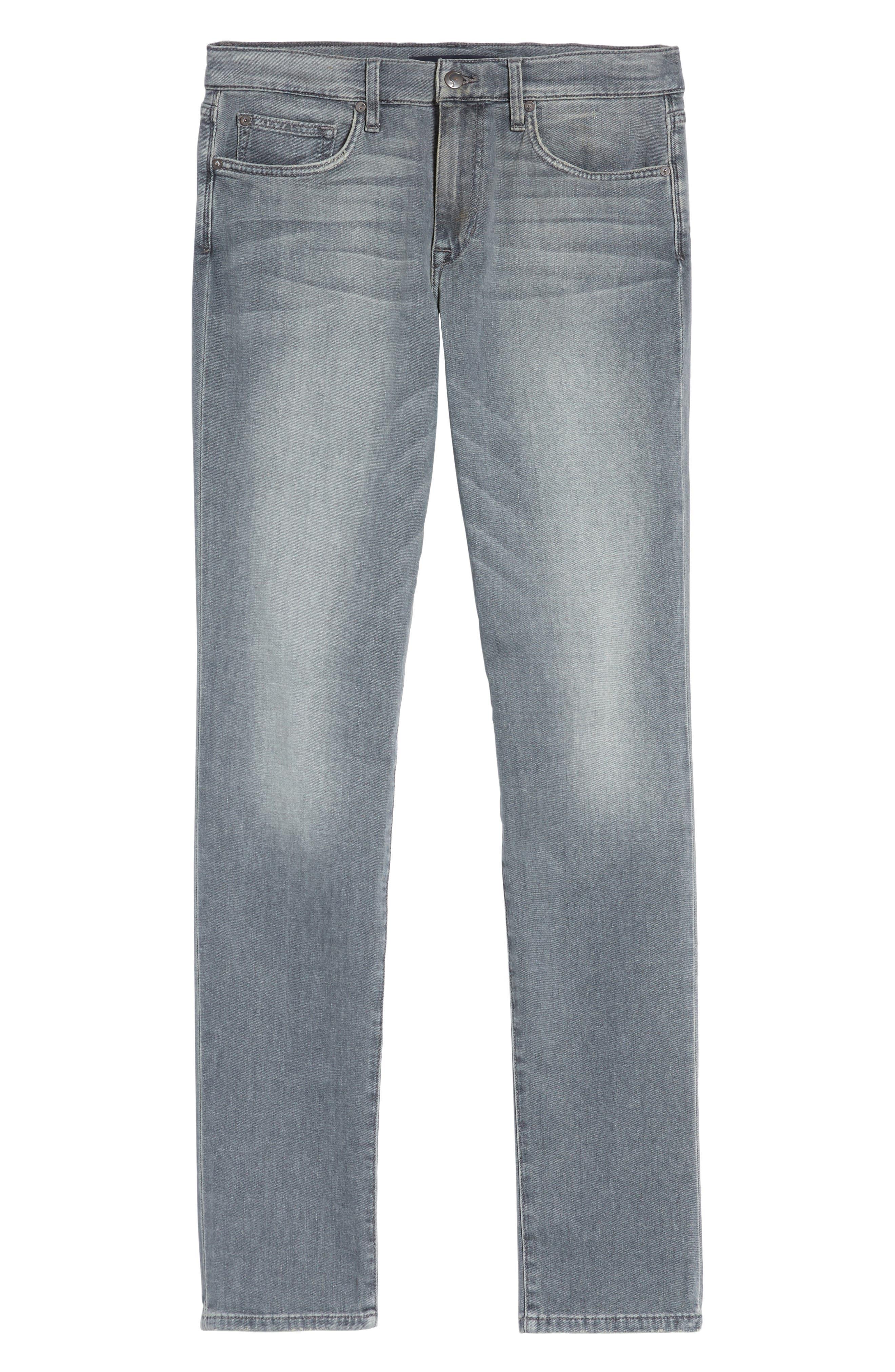 Slim Fit Jeans,                             Alternate thumbnail 6, color,                             060