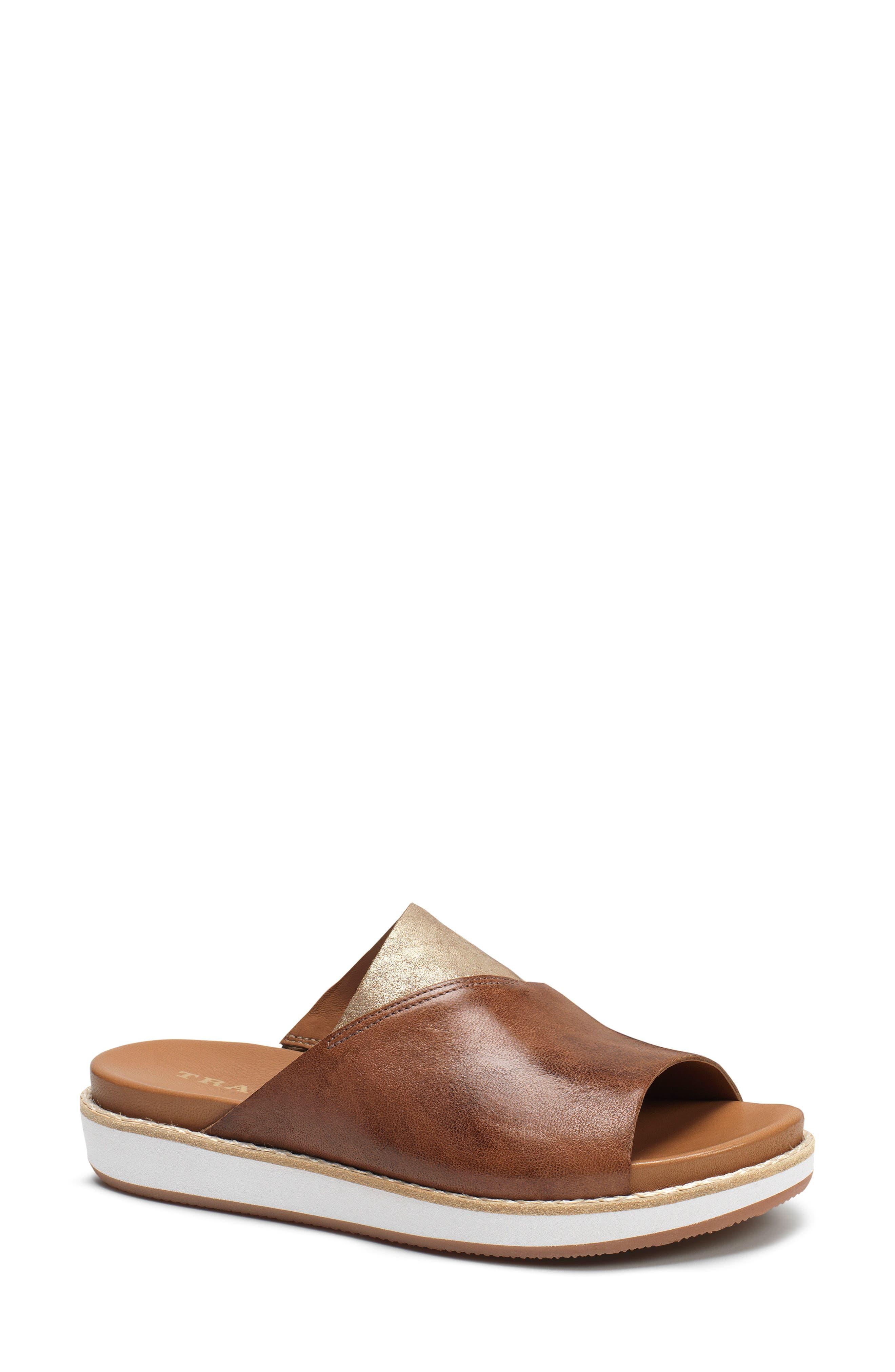 Codi Sandal,                         Main,                         color, TEAK LEATHER