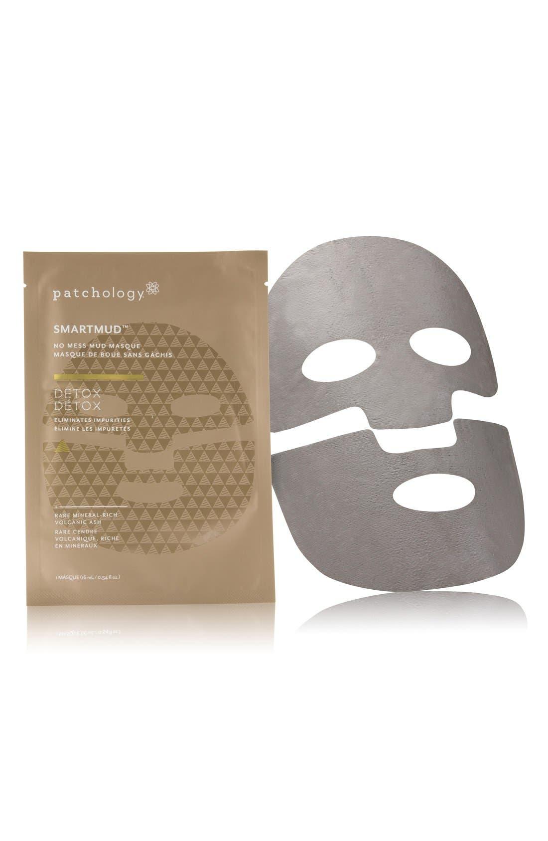 SmartMud<sup>™</sup> Detox No Mess Mud Sheet Mask,                             Alternate thumbnail 2, color,                             NO COLOR