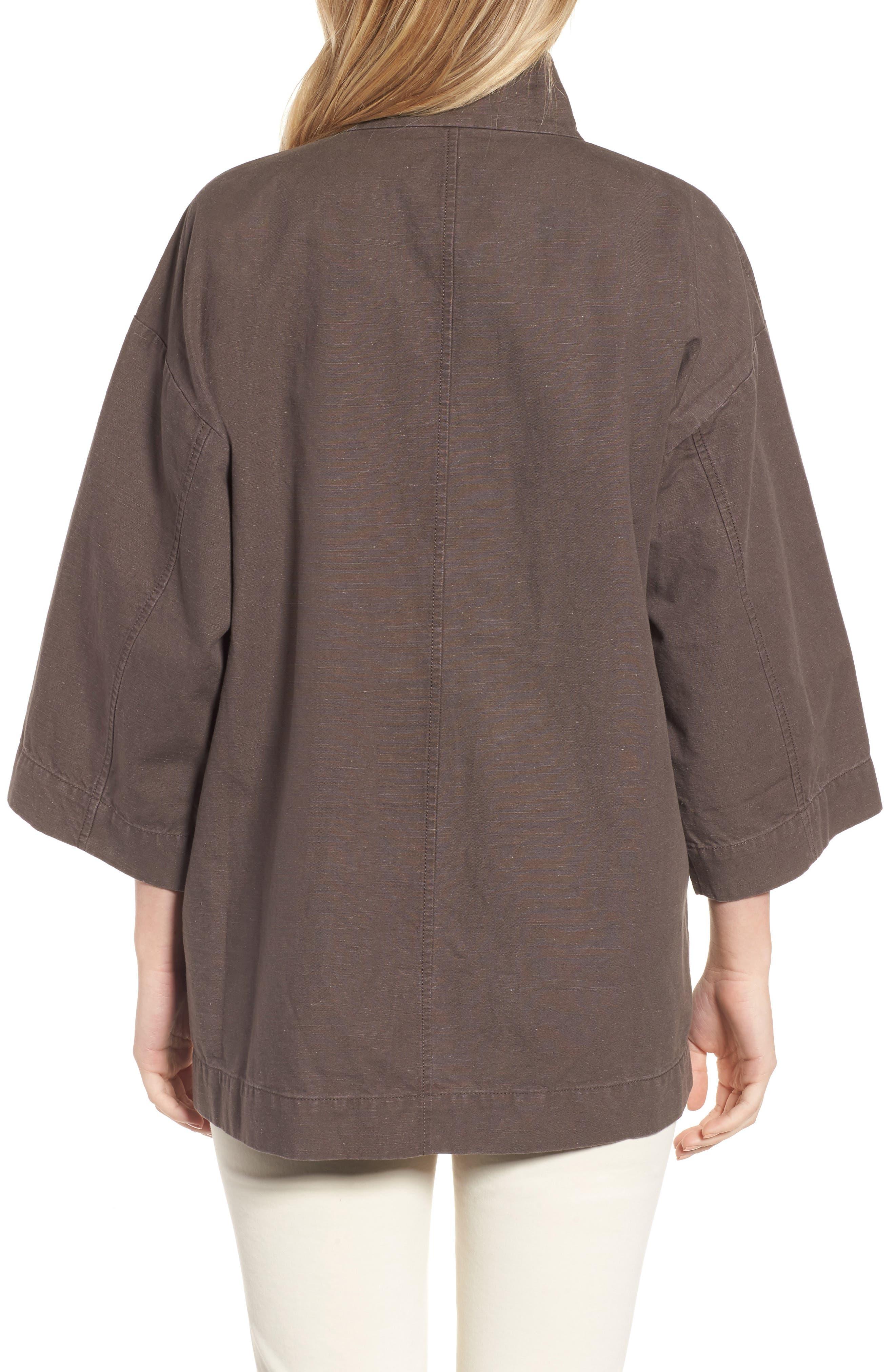 Organic Cotton & Hemp Jacket,                             Alternate thumbnail 2, color,                             024