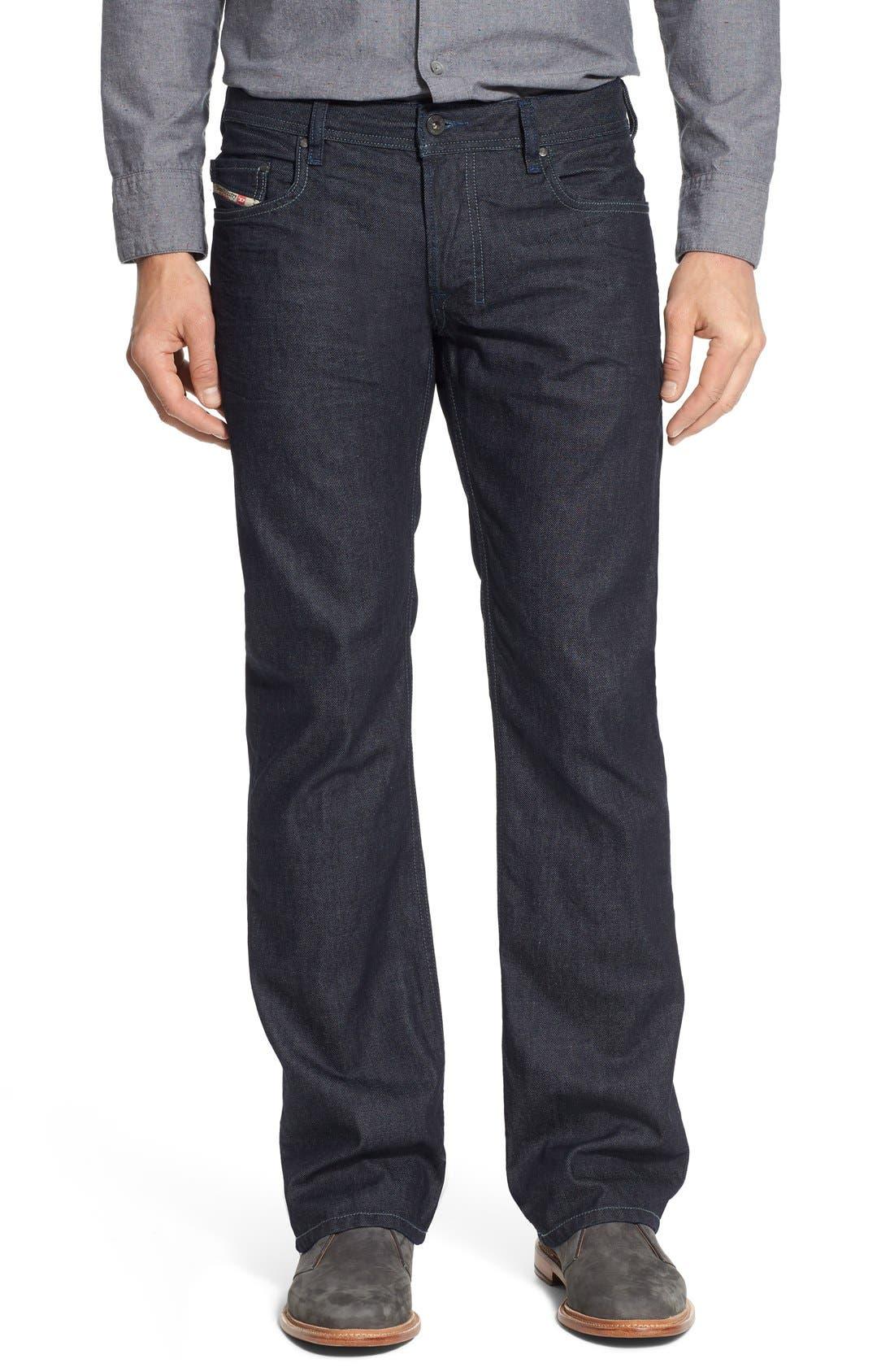 Zatiny Bootcut Jeans,                             Main thumbnail 1, color,                             THE BLUE BARON
