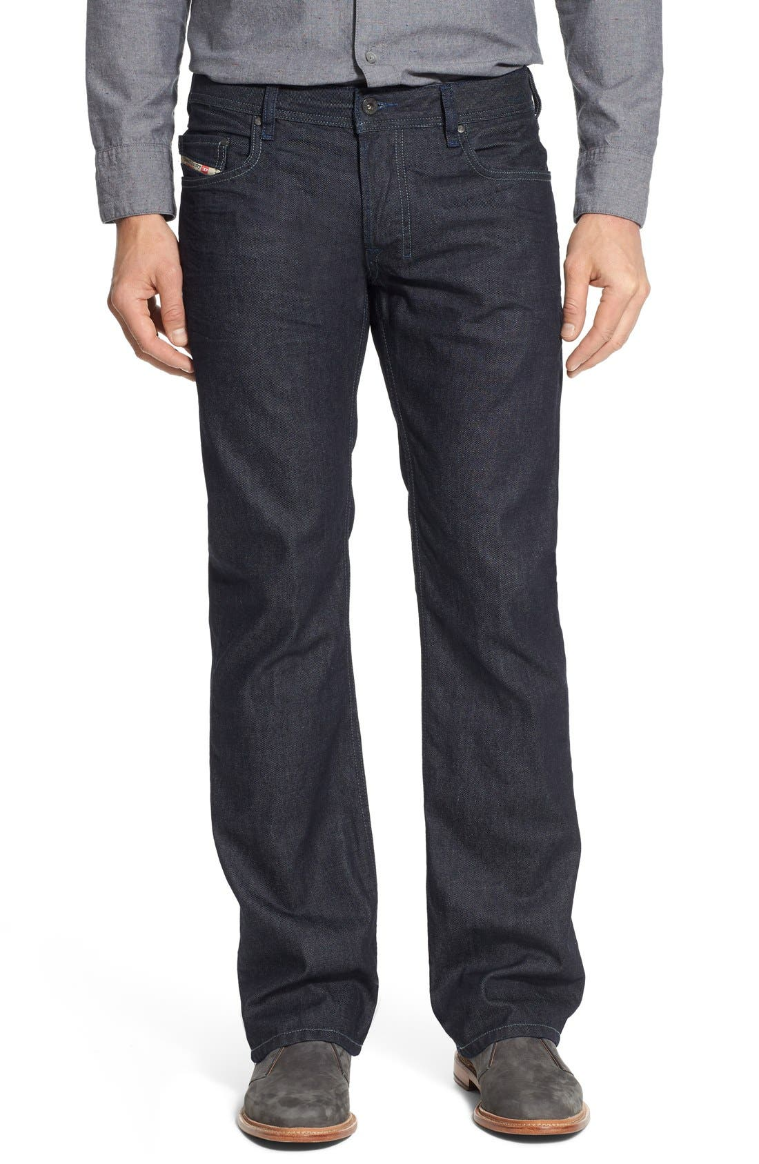 Zatiny Bootcut Jeans,                         Main,                         color, THE BLUE BARON