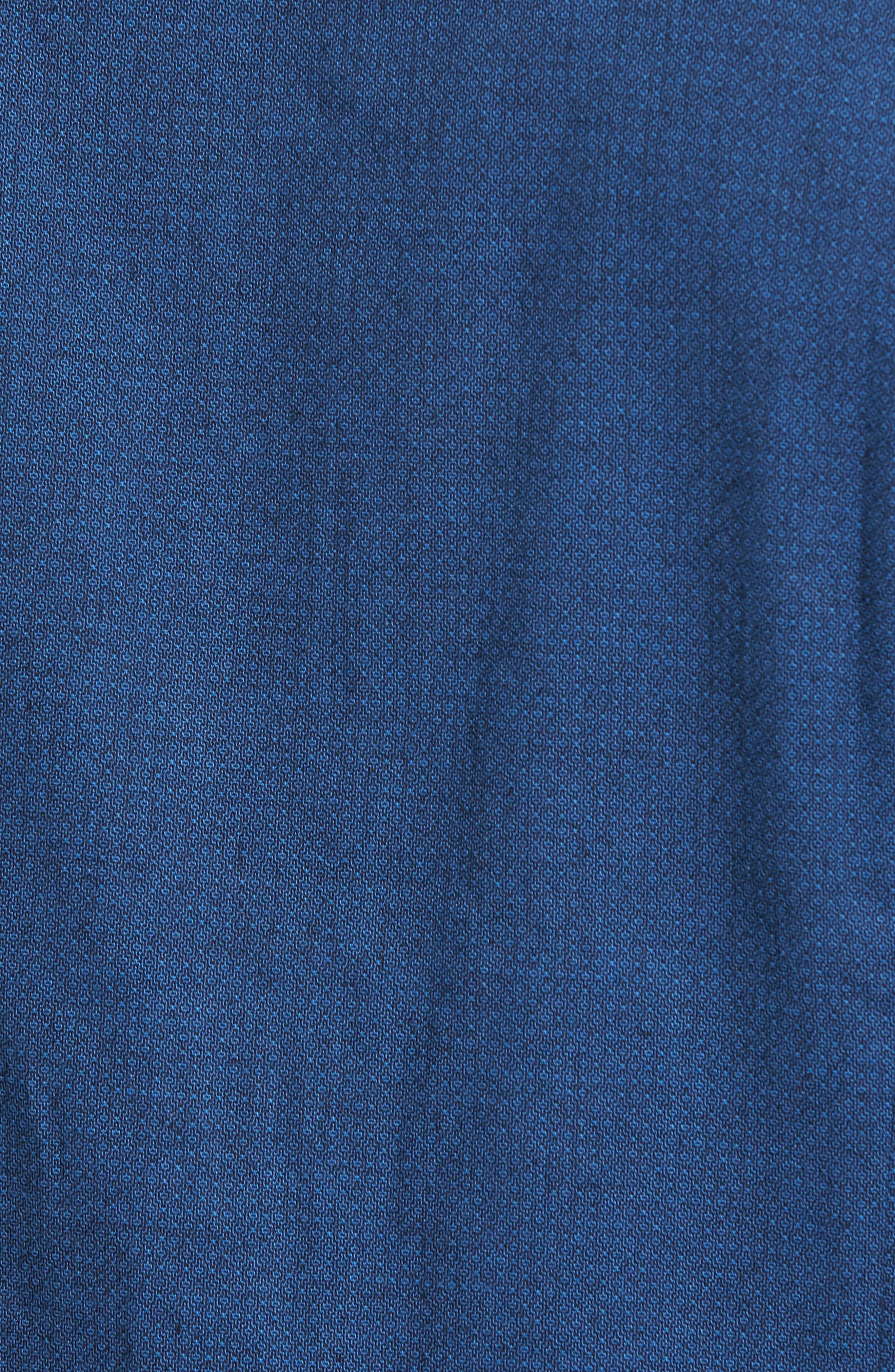 Lukas Regular Fit Microprint Flannel Sport Shirt,                             Alternate thumbnail 5, color,