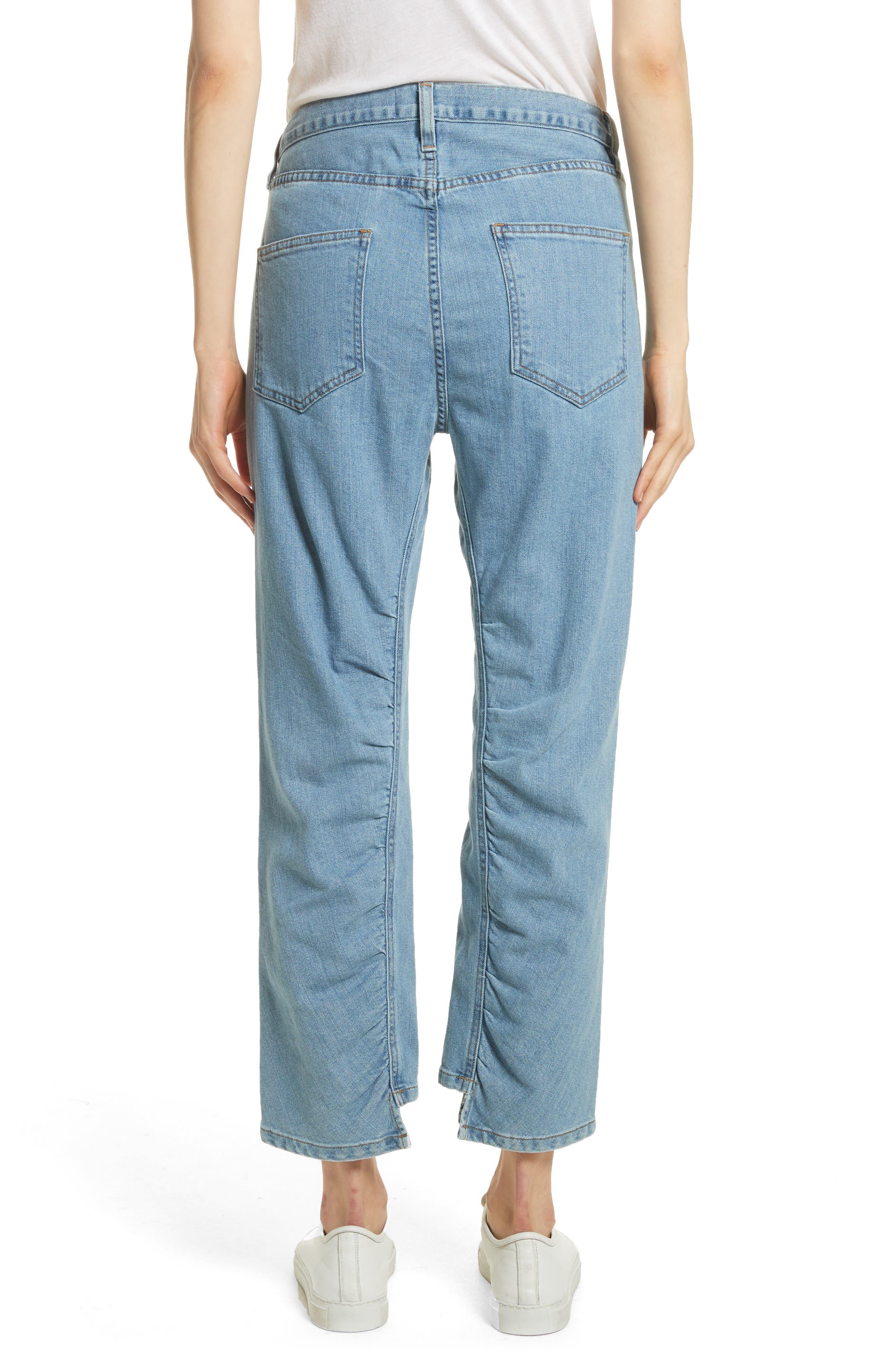 Le Ruche Crop Jeans,                             Alternate thumbnail 2, color,                             421