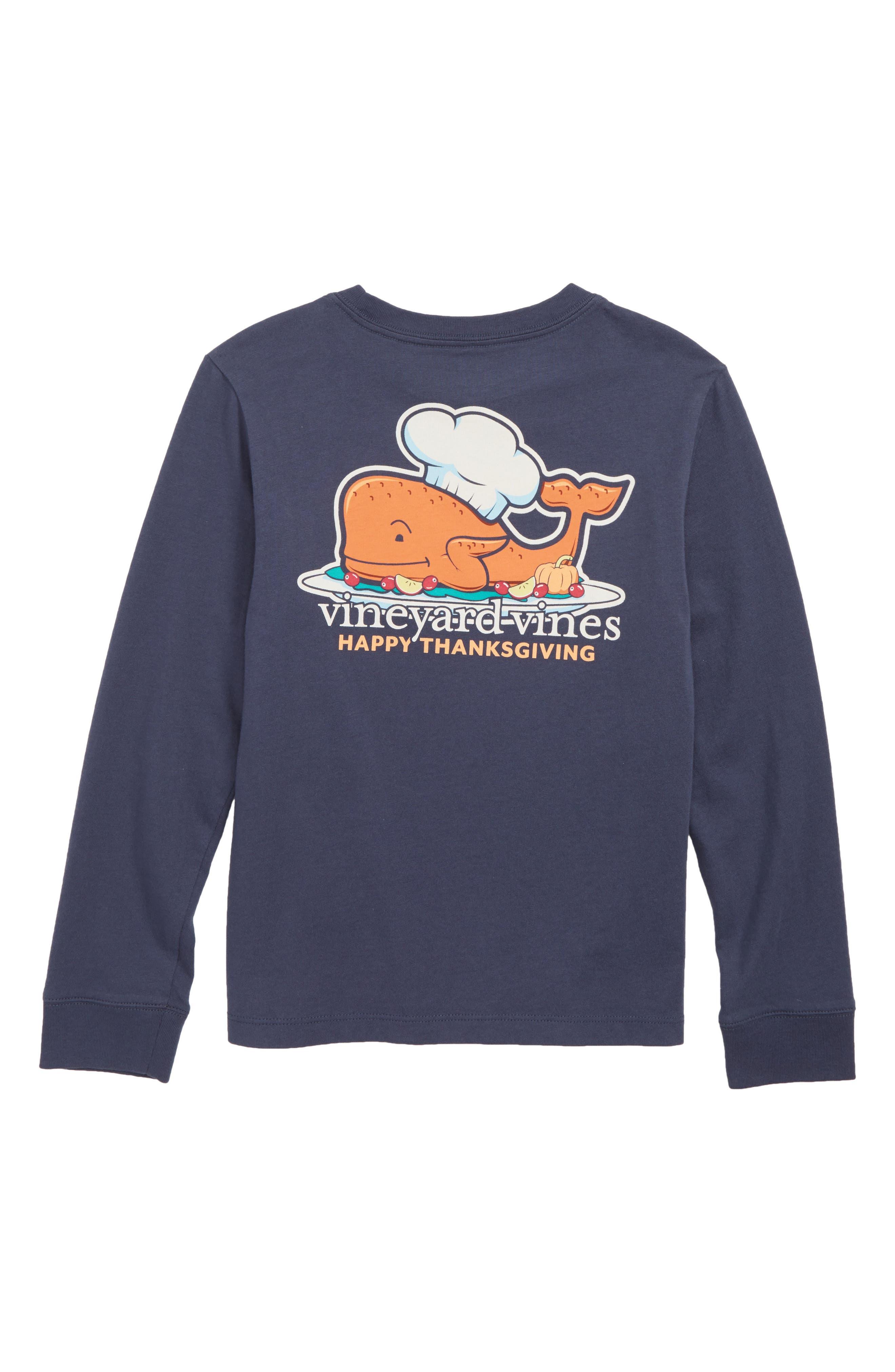 Thanksgiving Turkey Pocket T-Shirt,                             Alternate thumbnail 2, color,                             406