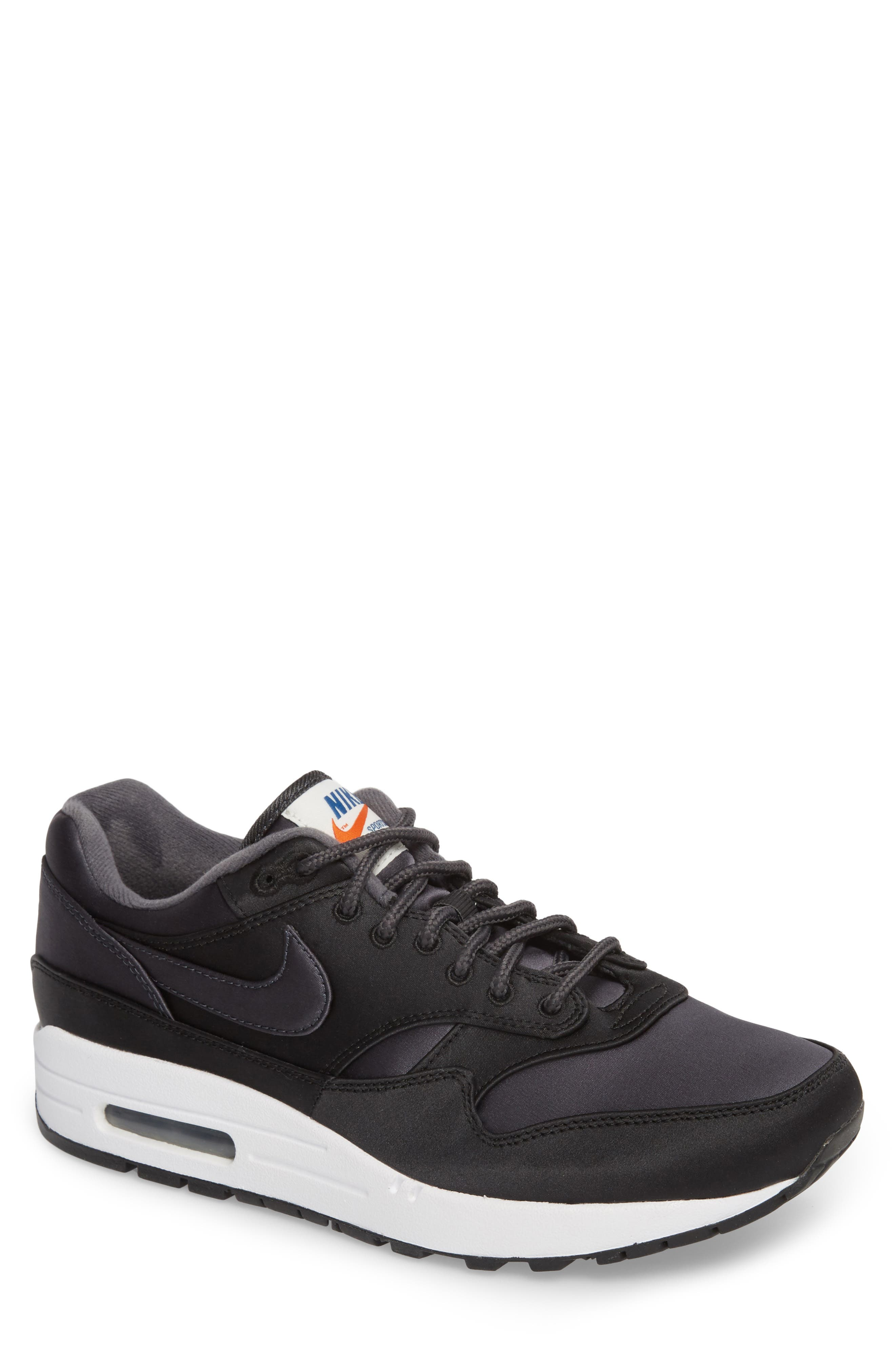NIKE,                             Air Max 1 SE Sneaker,                             Main thumbnail 1, color,                             001