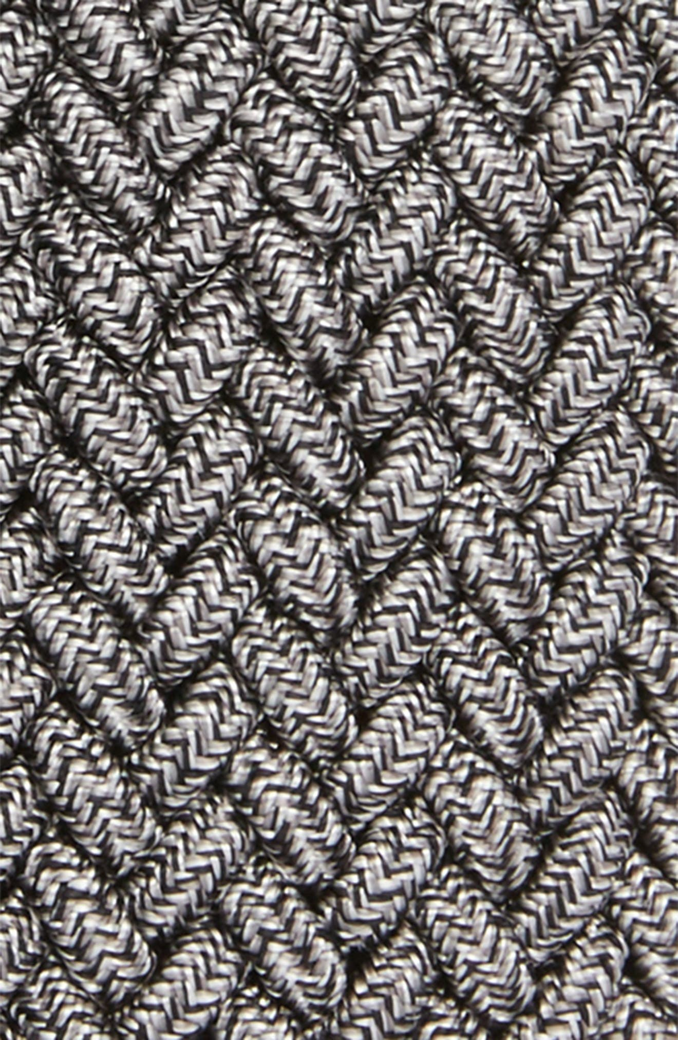 Braided Mélange Belts,                             Alternate thumbnail 2, color,                             GREY