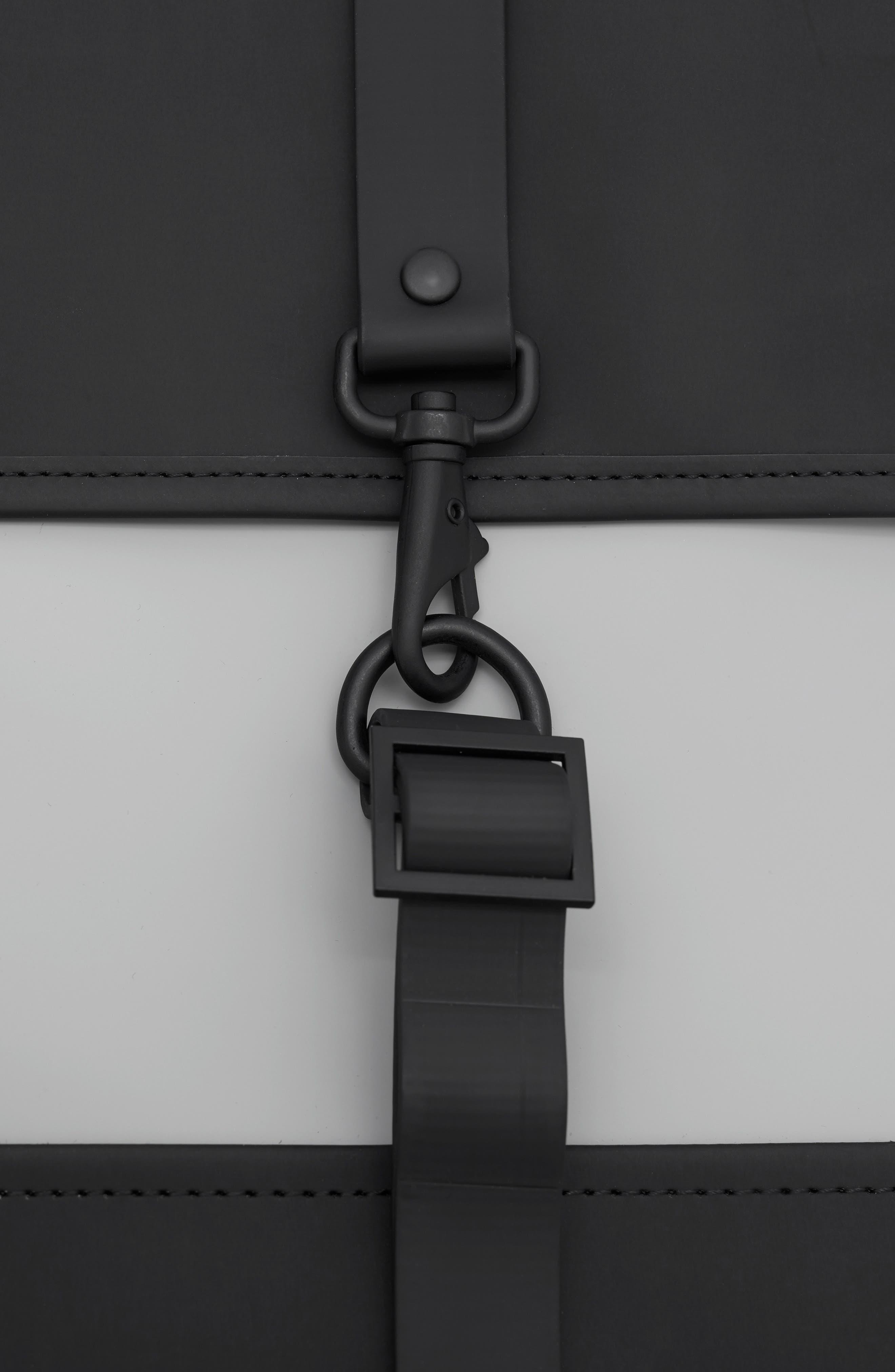 Waterproof Backpack,                             Alternate thumbnail 5, color,                             BLACK/ STONE