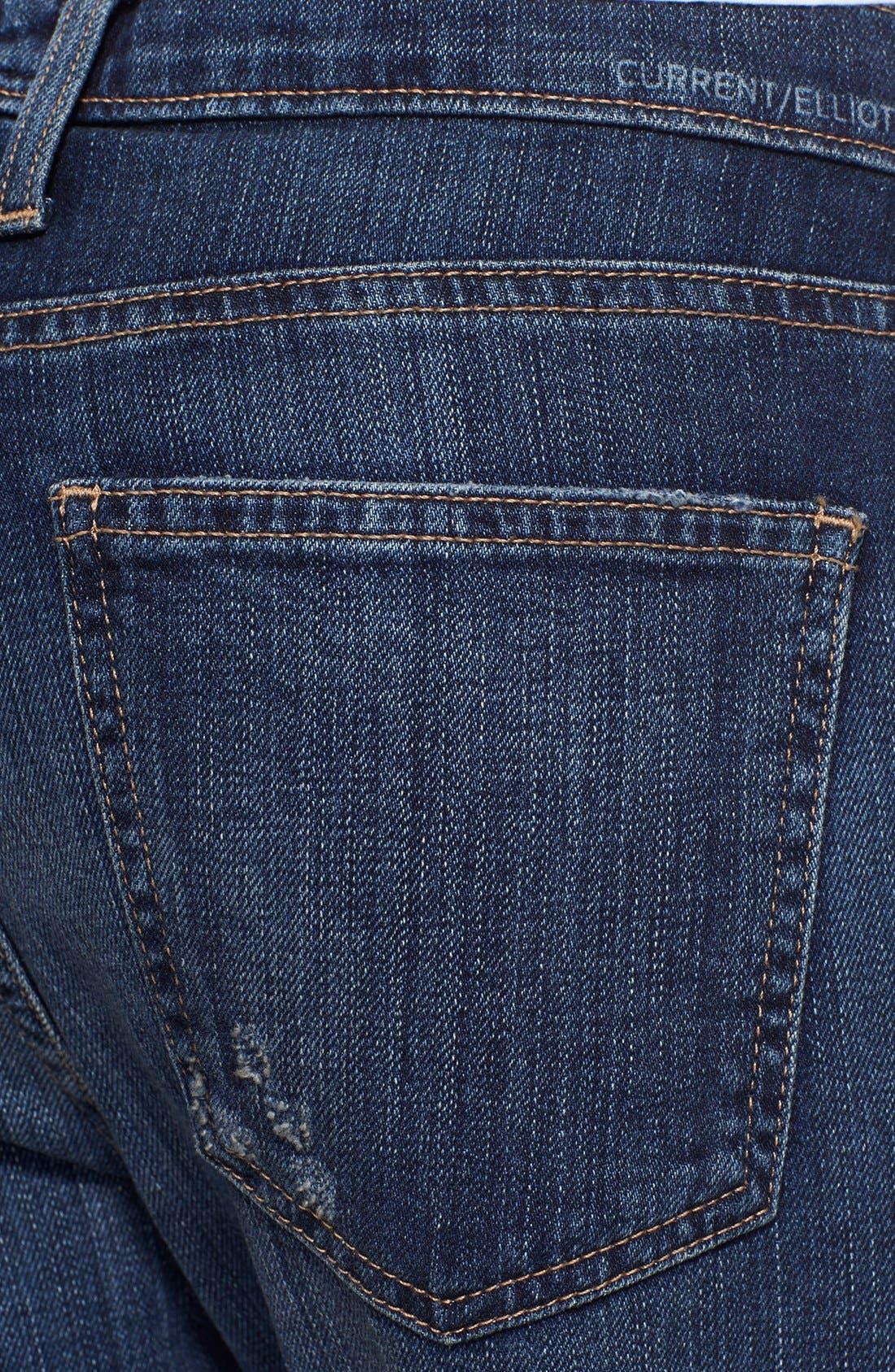 'The Fling' Boyfriend Jeans,                             Alternate thumbnail 4, color,                             465