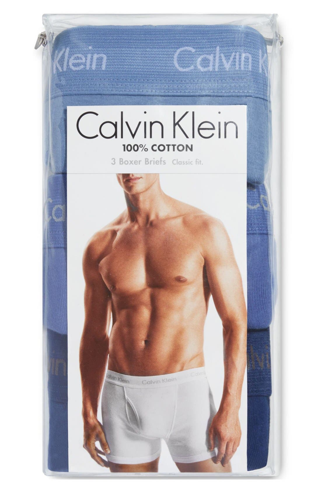 3-Pack Boxer Briefs,                             Alternate thumbnail 3, color,                             BLUE ASSORTED
