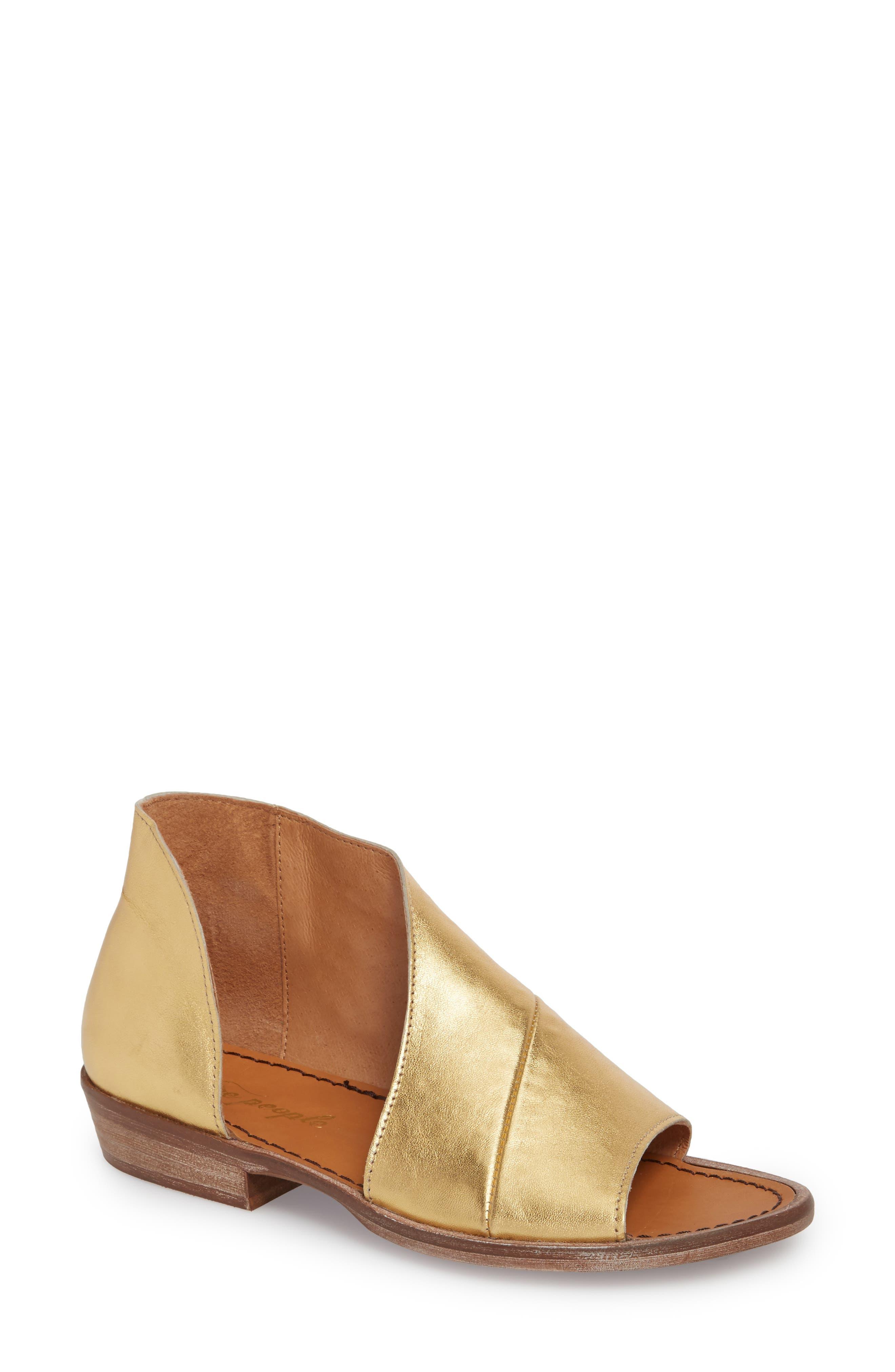 'Mont Blanc' Asymmetrical Sandal,                             Main thumbnail 6, color,