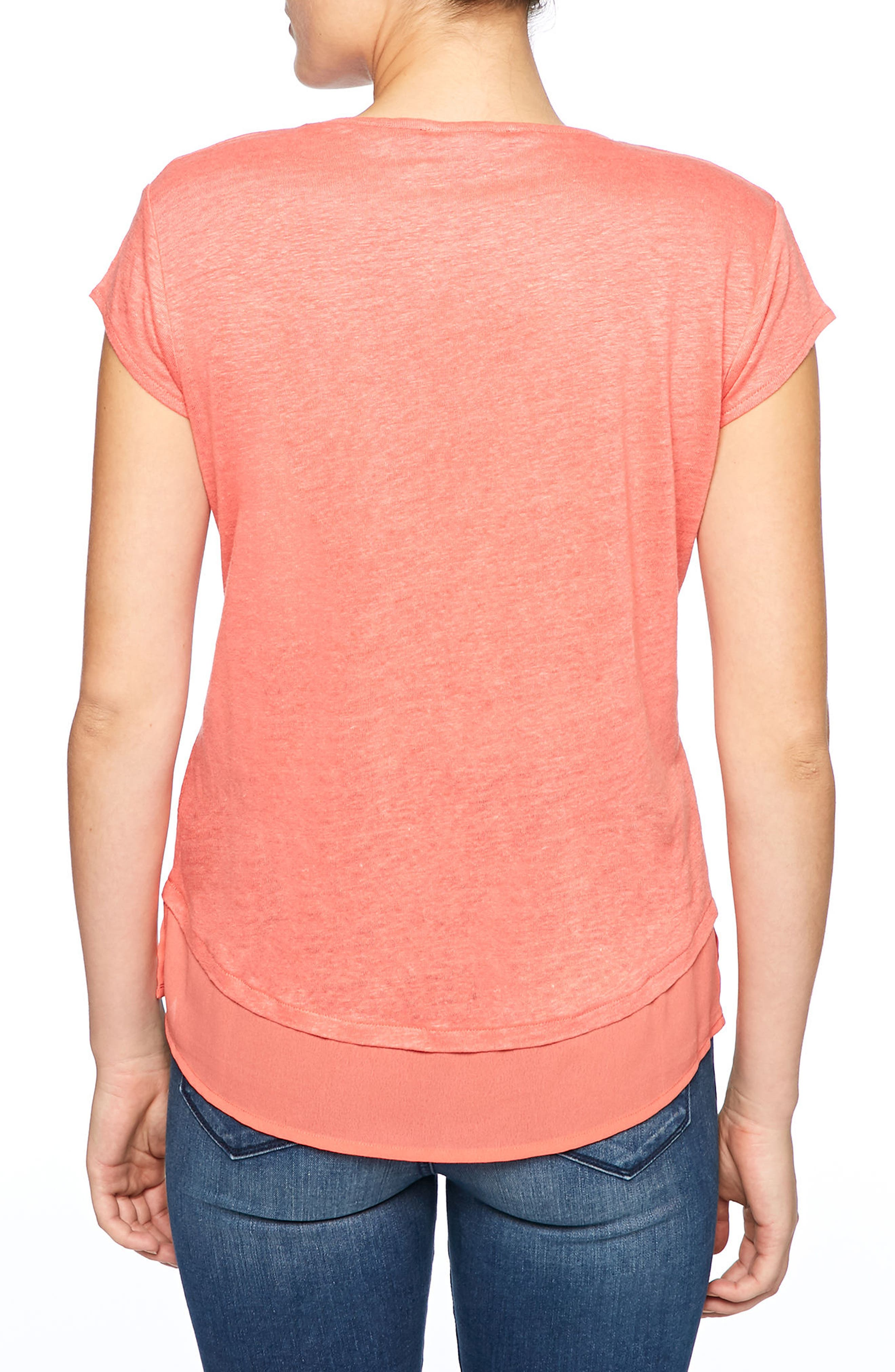 City Mix Layered Look Tee,                             Alternate thumbnail 50, color,