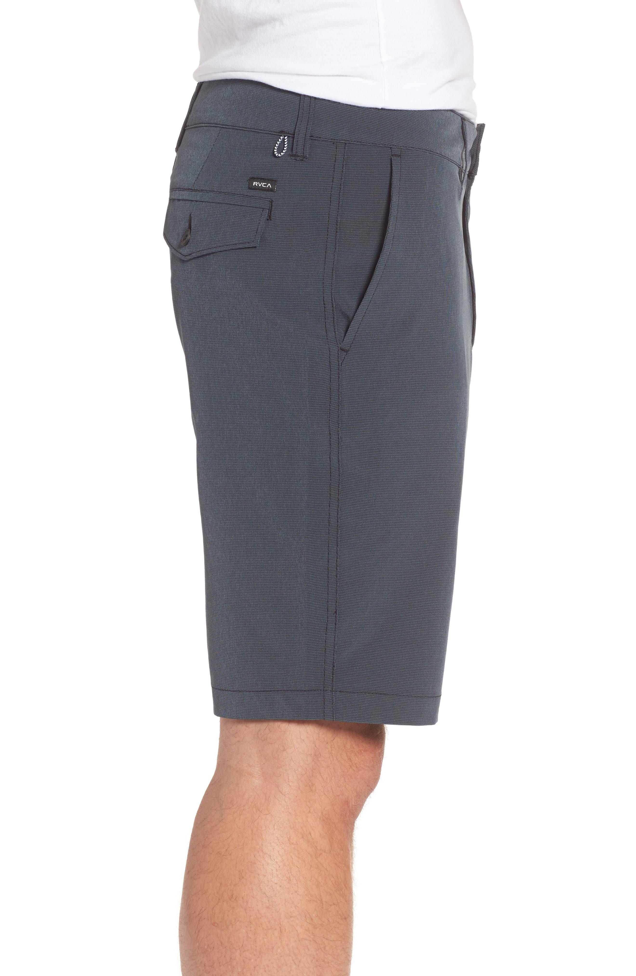 Grid Hybrid Shorts,                             Alternate thumbnail 3, color,                             001