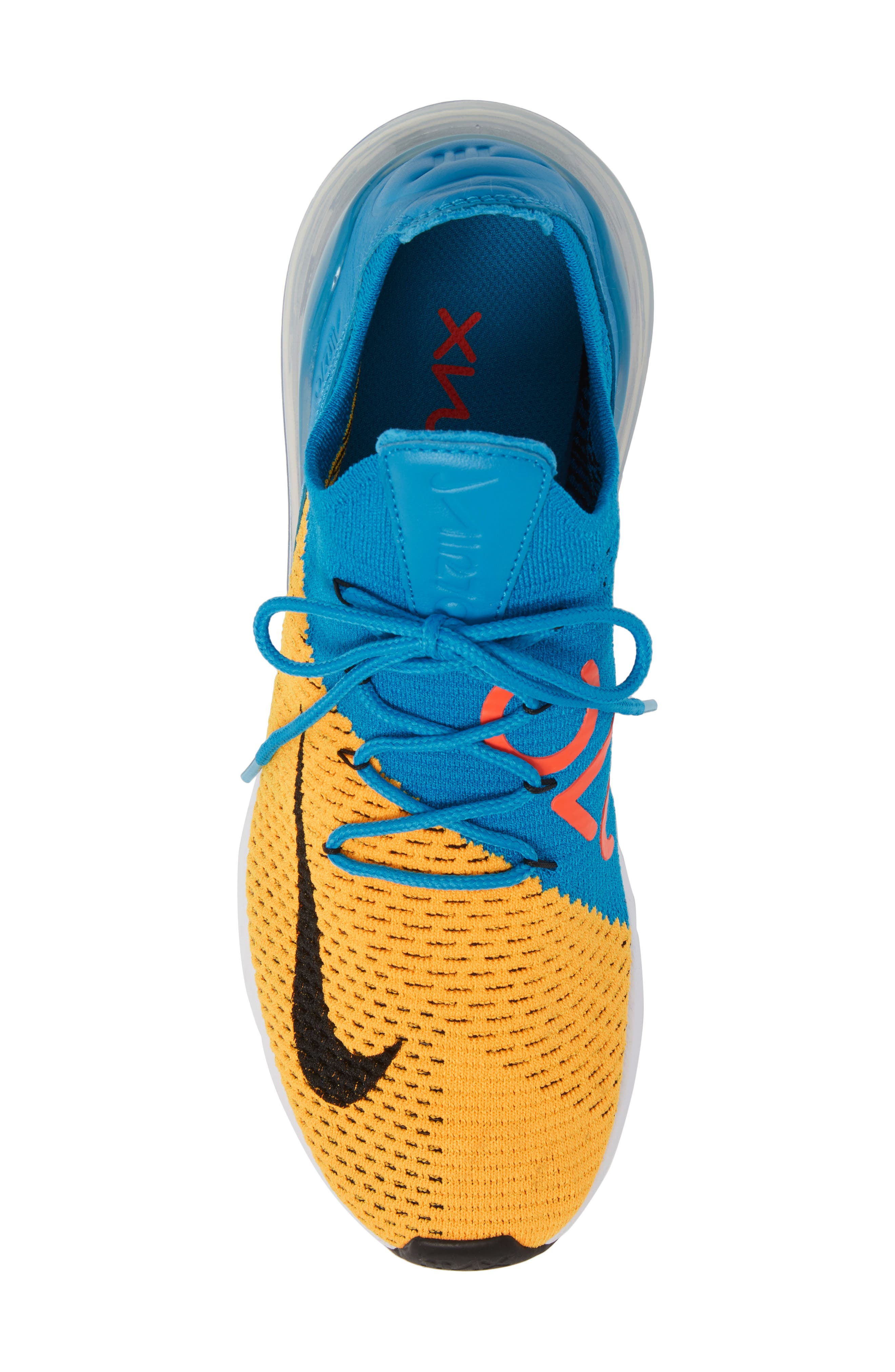 Air Max 270 Flyknit Sneaker,                             Alternate thumbnail 35, color,