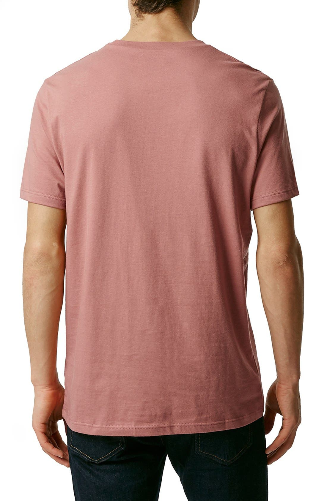 Slim Fit Crewneck T-Shirt,                             Alternate thumbnail 274, color,