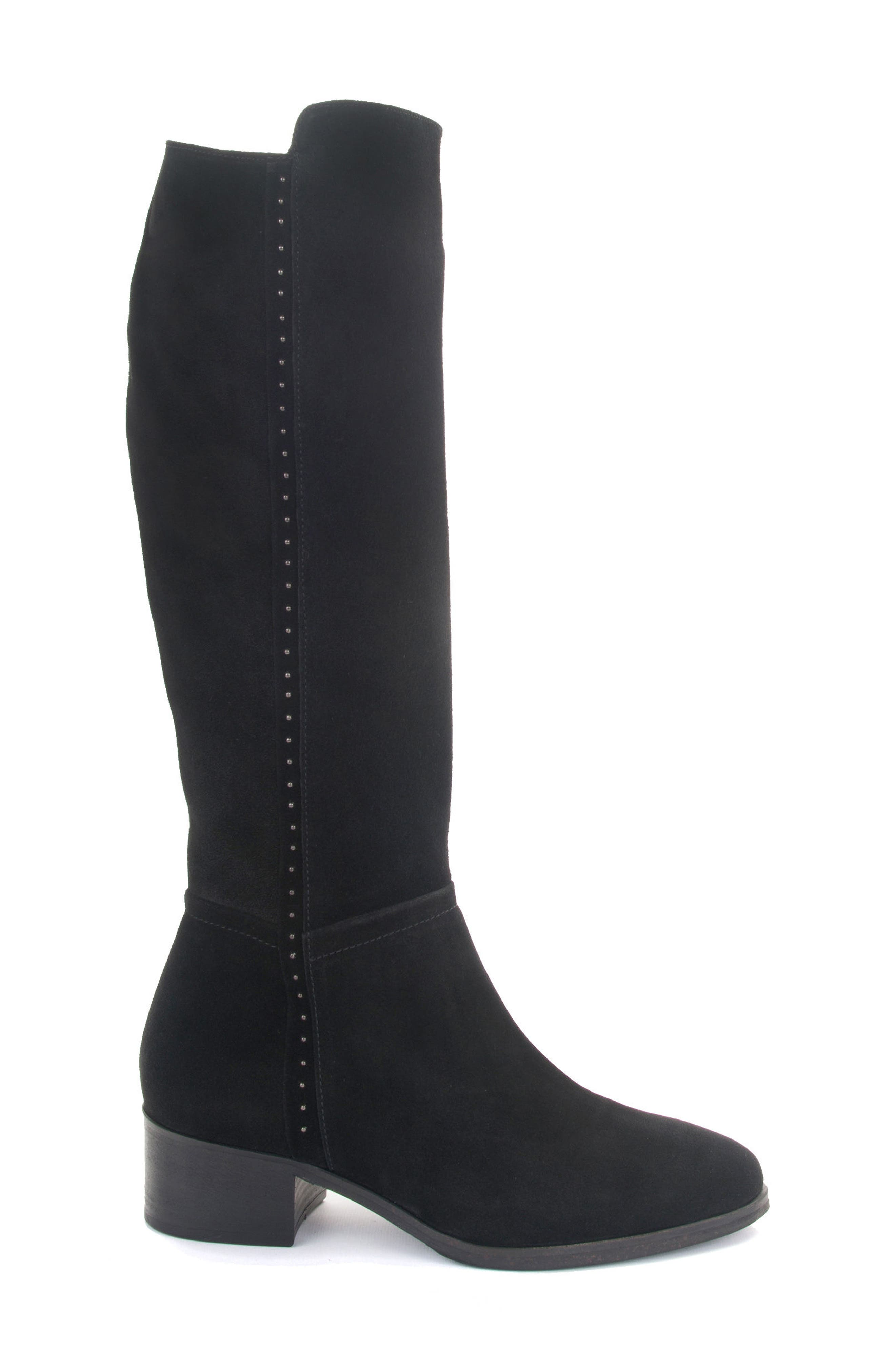 Fiamma Water Resistant Knee High Boot,                             Alternate thumbnail 3, color,                             010