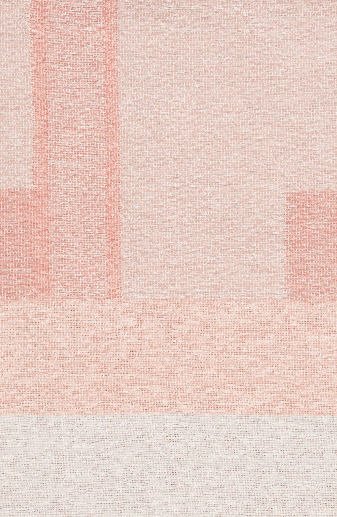 Geo Throw Blanket,                             Alternate thumbnail 2, color,                             PINK MISTY MULTI