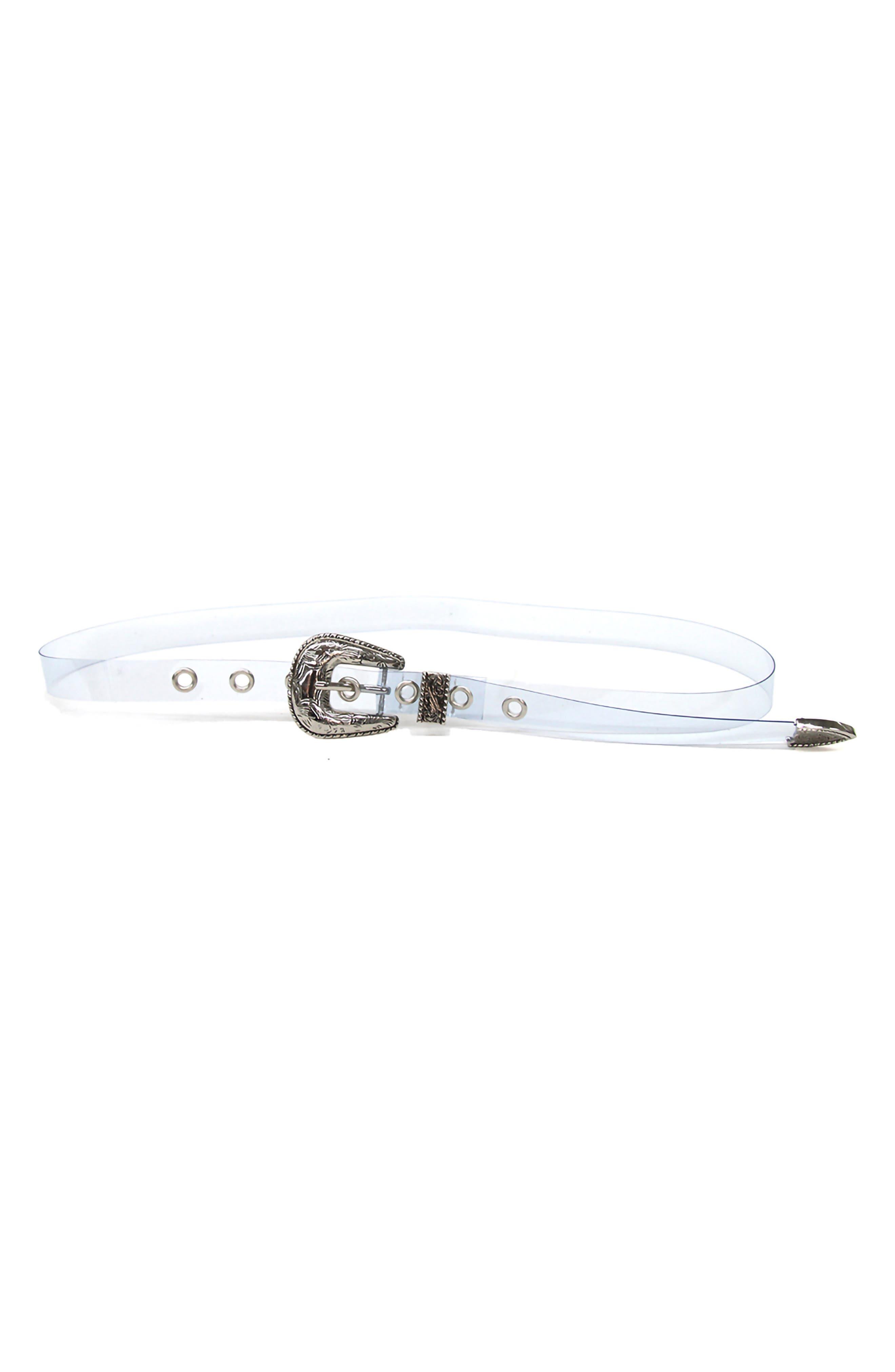 B-Low The Belt Baby Frank Transparent Hip Belt, Sky/ Silver