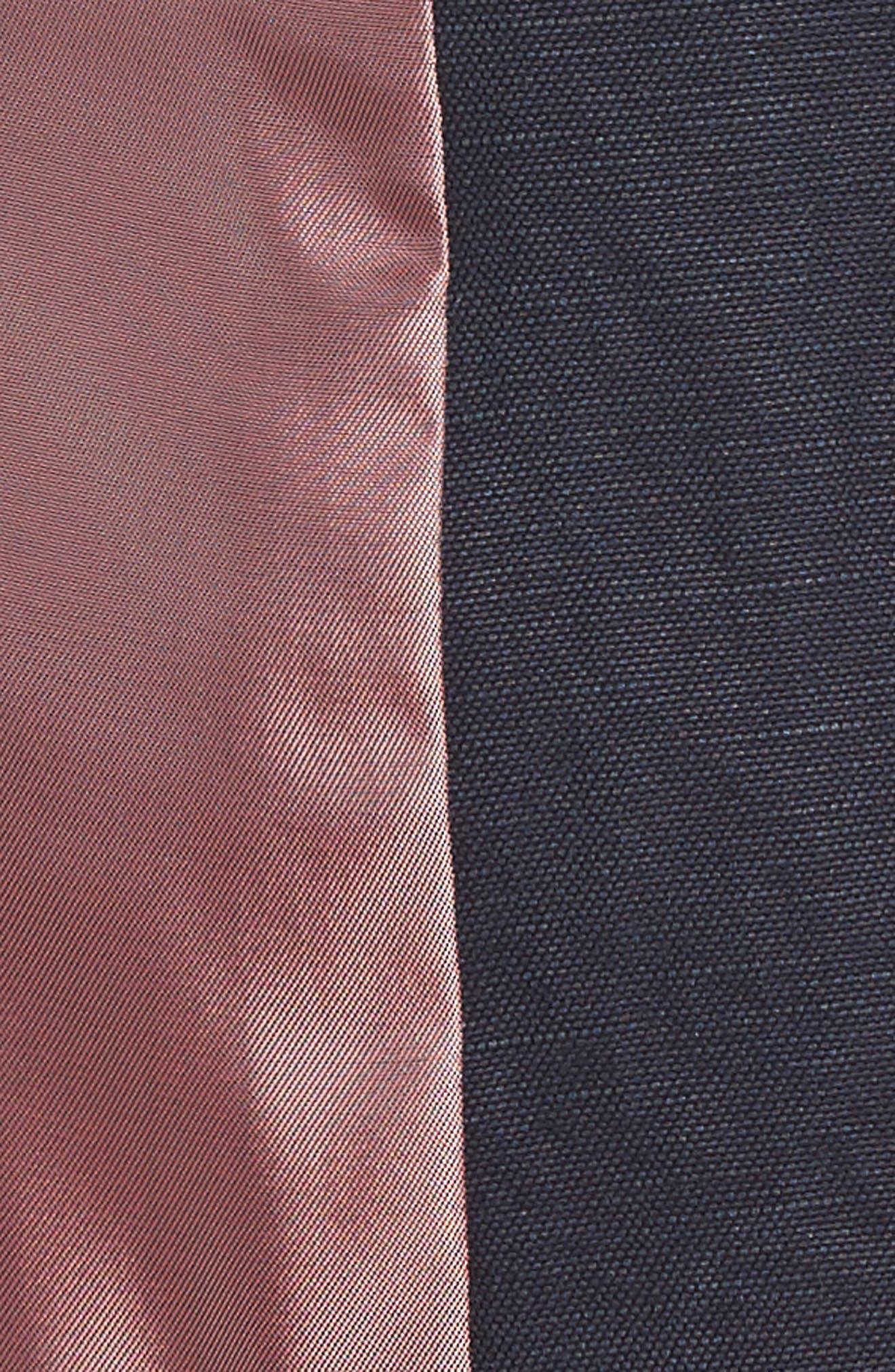 Hootie Solid Cotton & Linen Vest,                             Alternate thumbnail 5, color,                             410