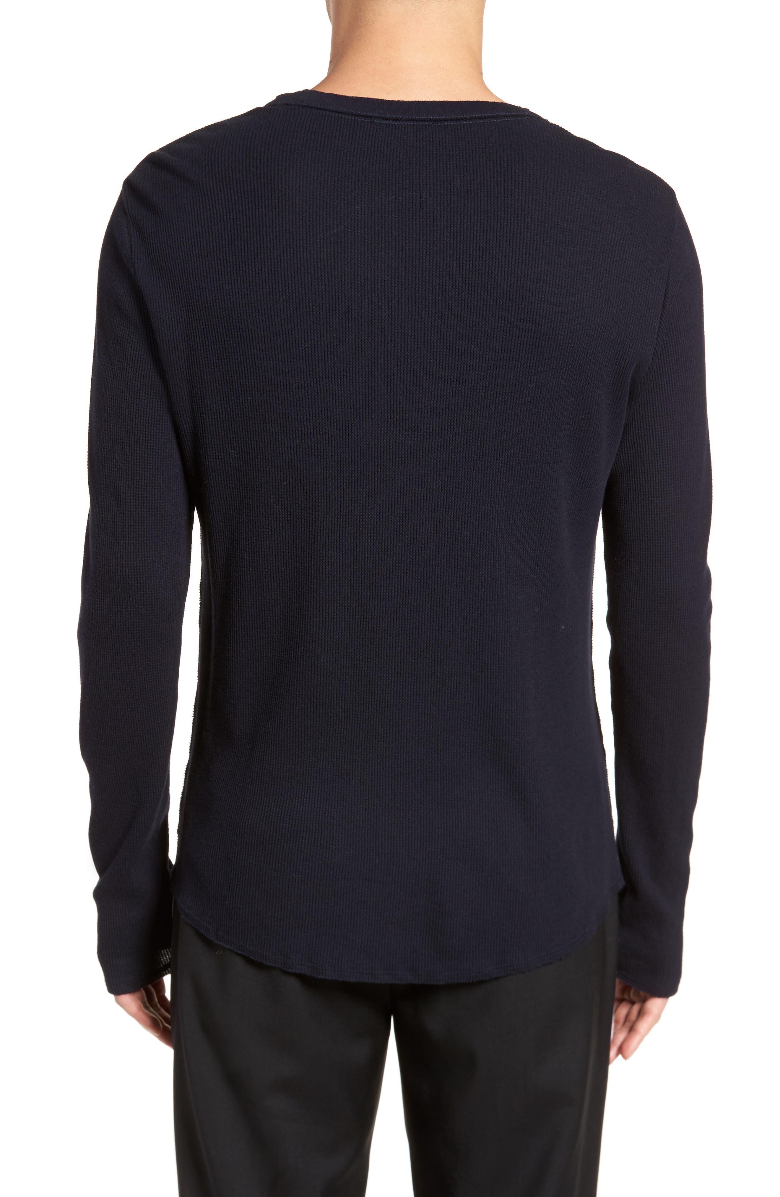 Thermal Knit Long Sleeve T-Shirt,                             Alternate thumbnail 6, color,