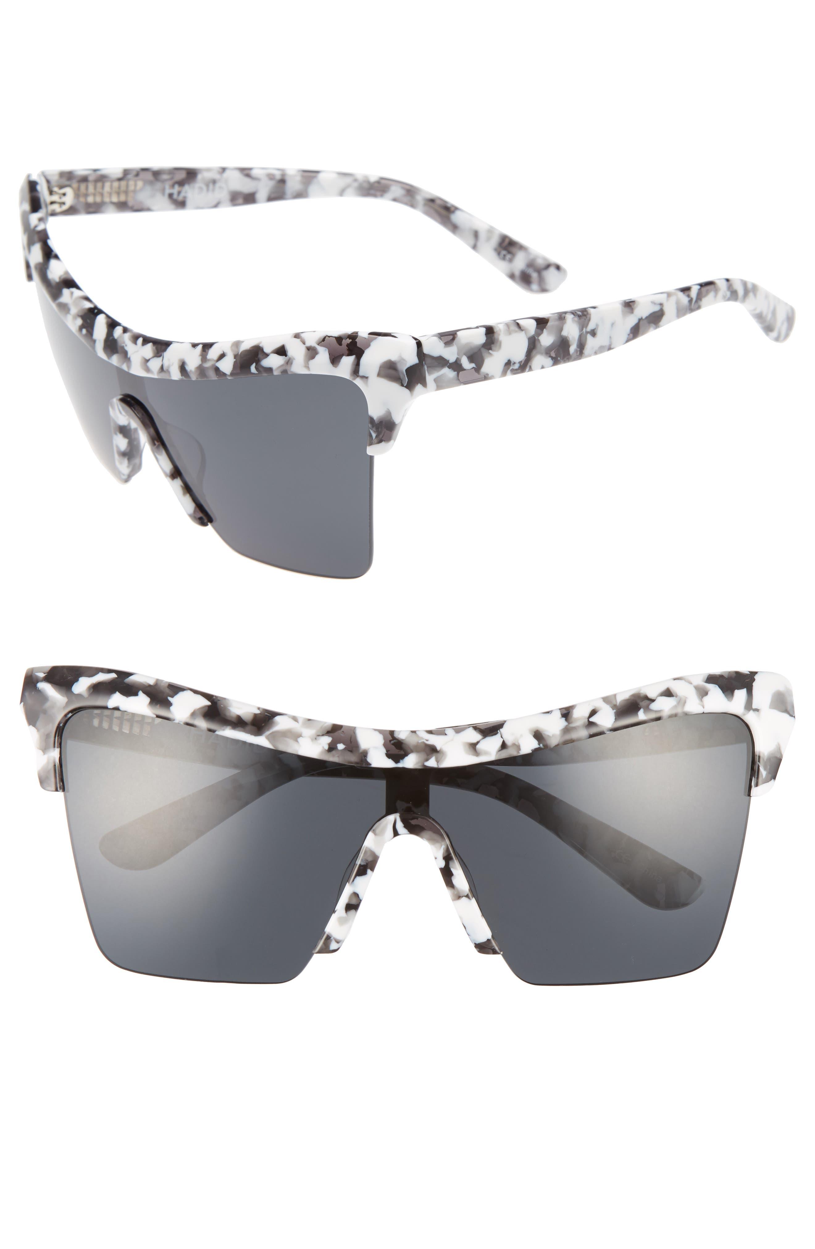 Passport Control 68mm Sunglasses,                         Main,                         color, WHITE CAMO