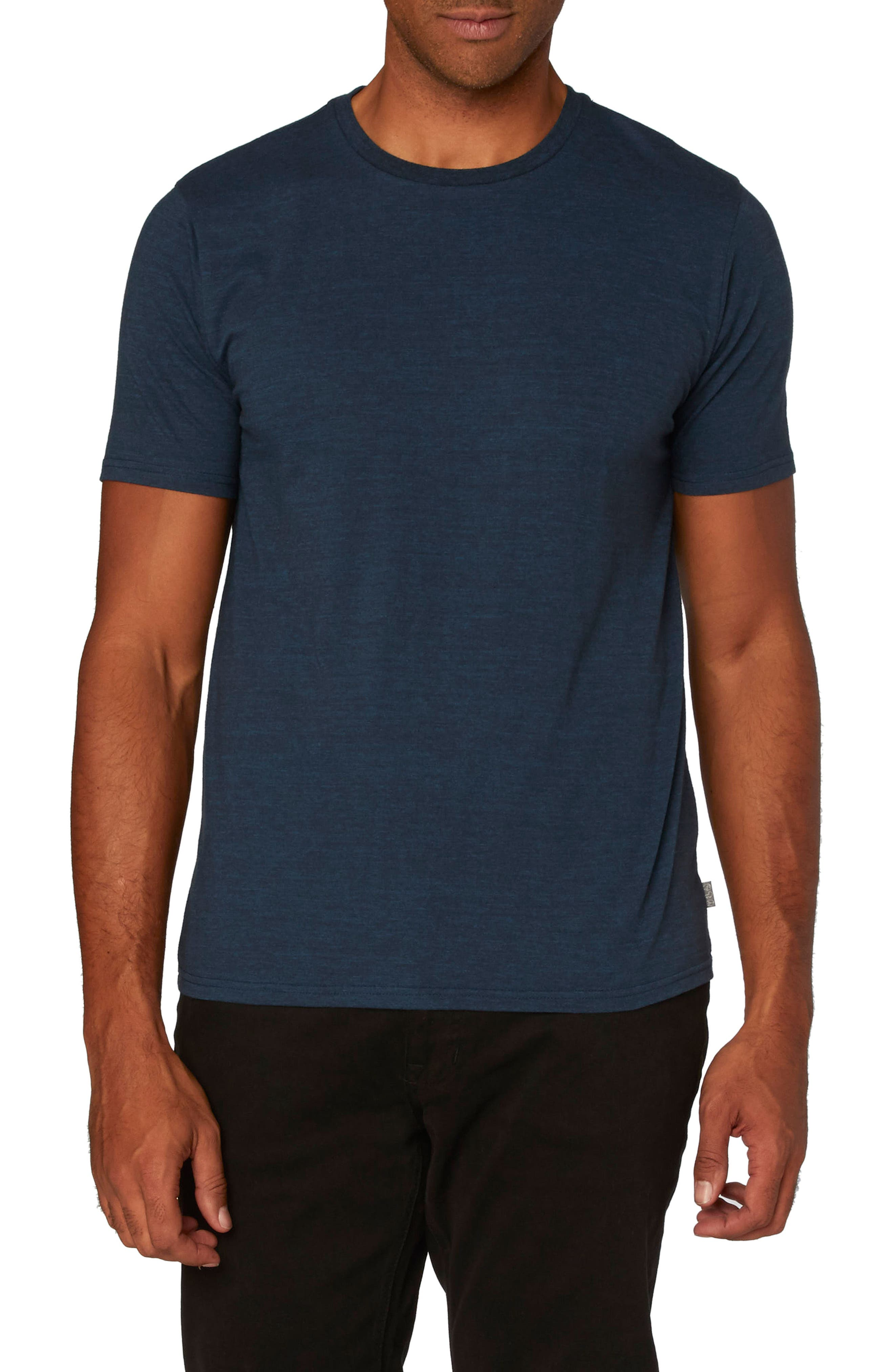 Threads for Thought Heathered Crew Neck,                             Alternate thumbnail 19, color,