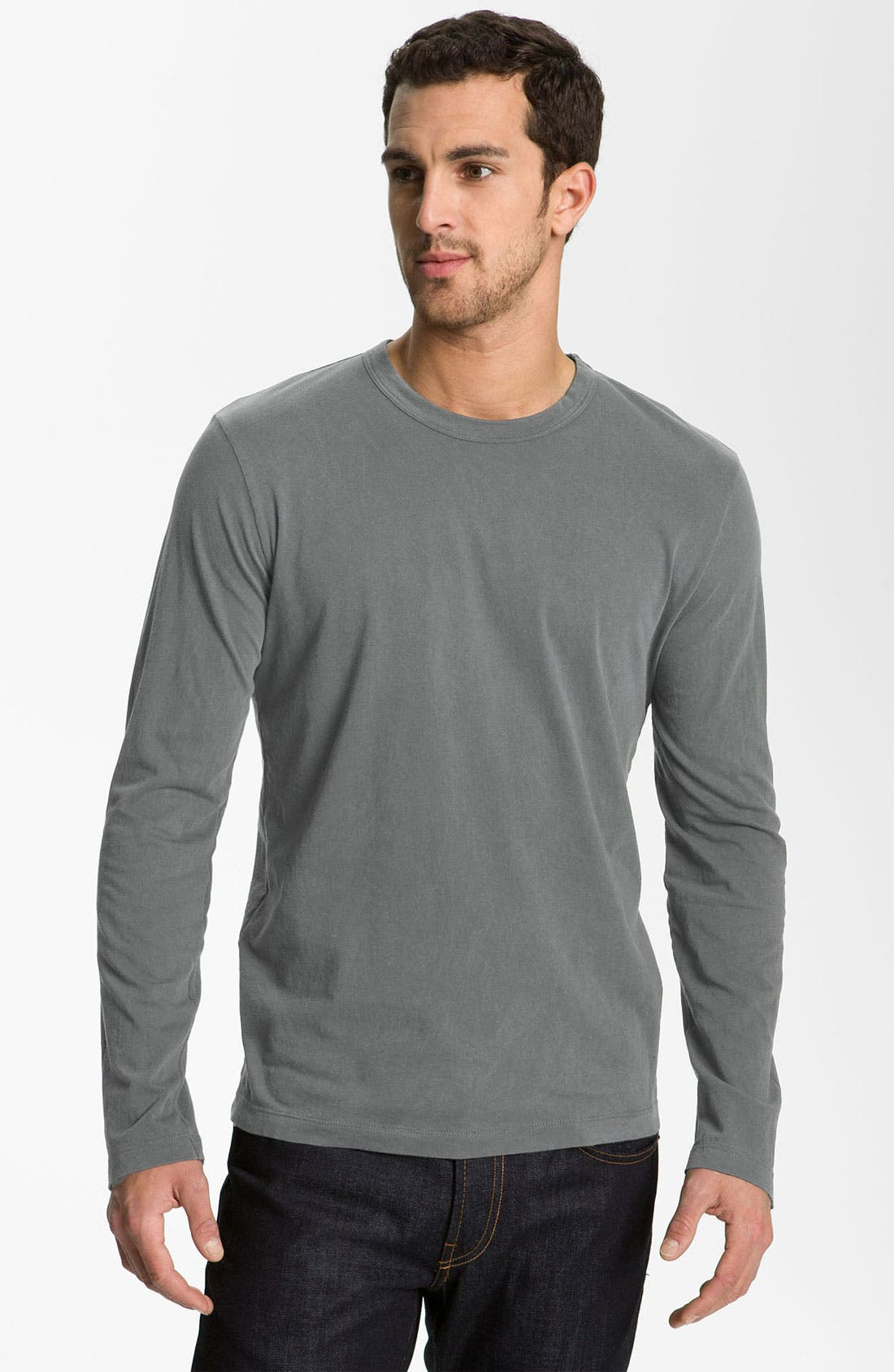 Long Sleeve Crewneck T-Shirt,                             Main thumbnail 21, color,