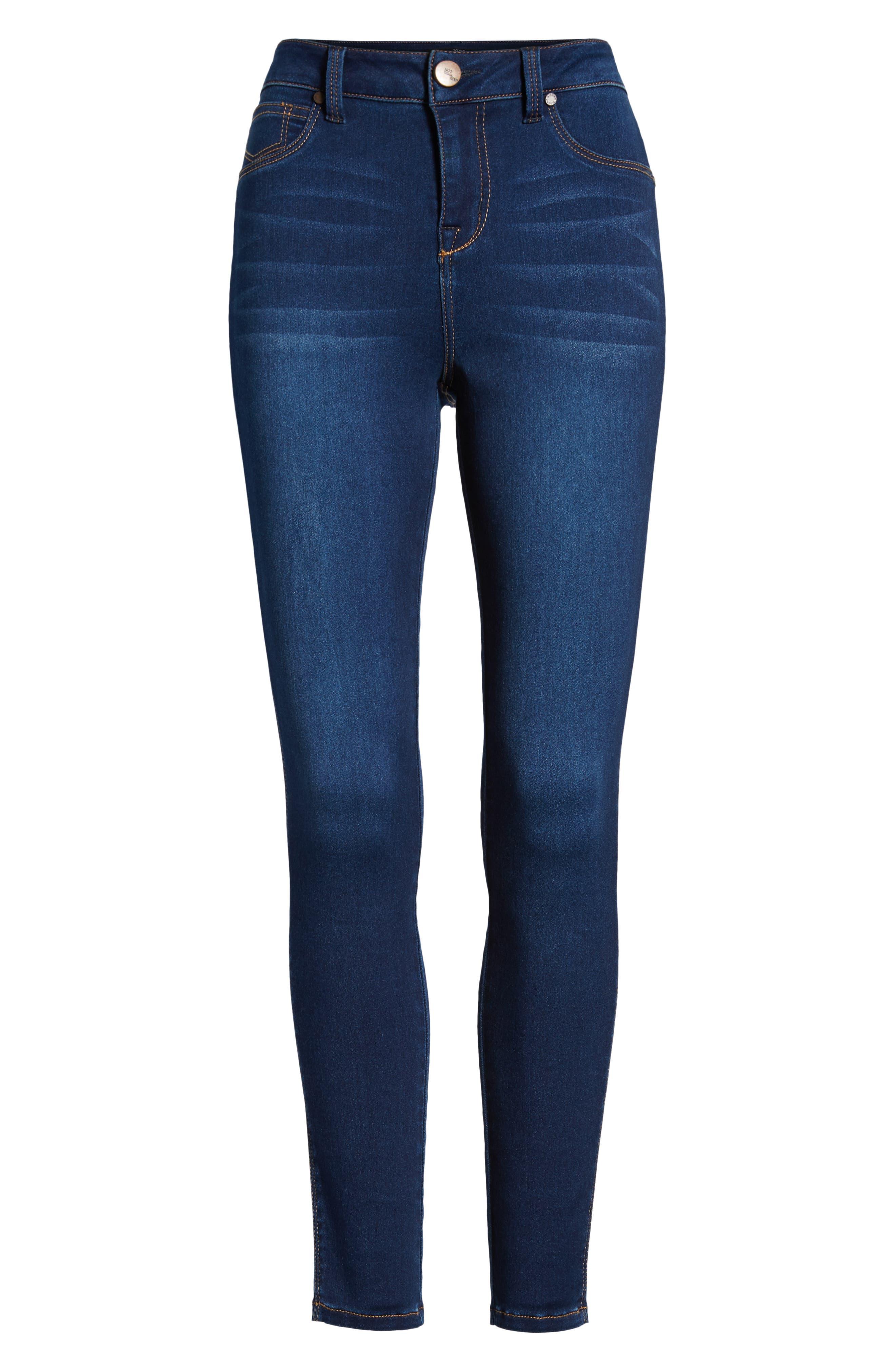 1822 DENIM,                             Butter High Rise Skinny Jeans,                             Alternate thumbnail 7, color,                             LENNOX