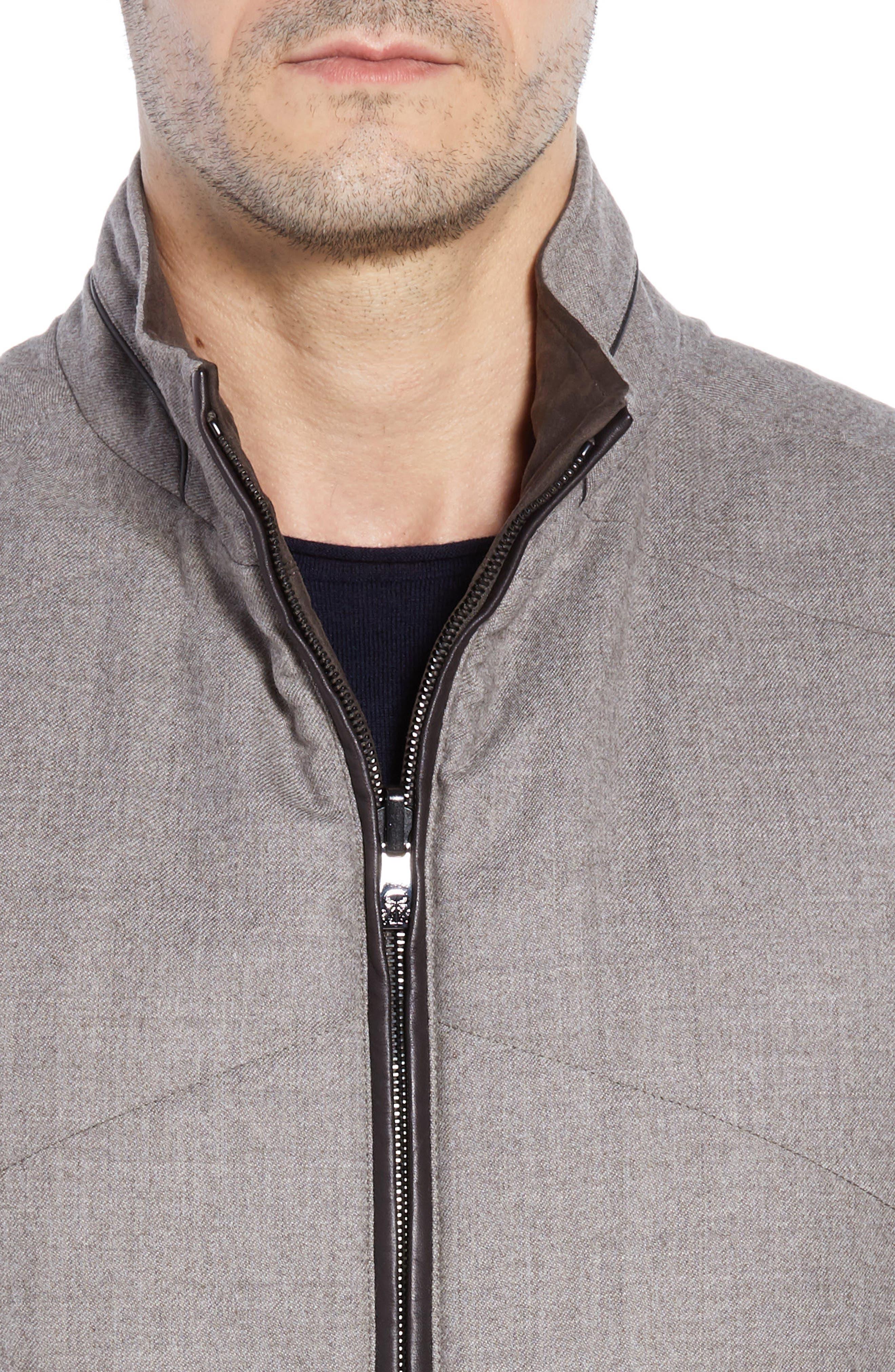 Classic Fit Reversible Vest,                             Alternate thumbnail 5, color,                             SAND