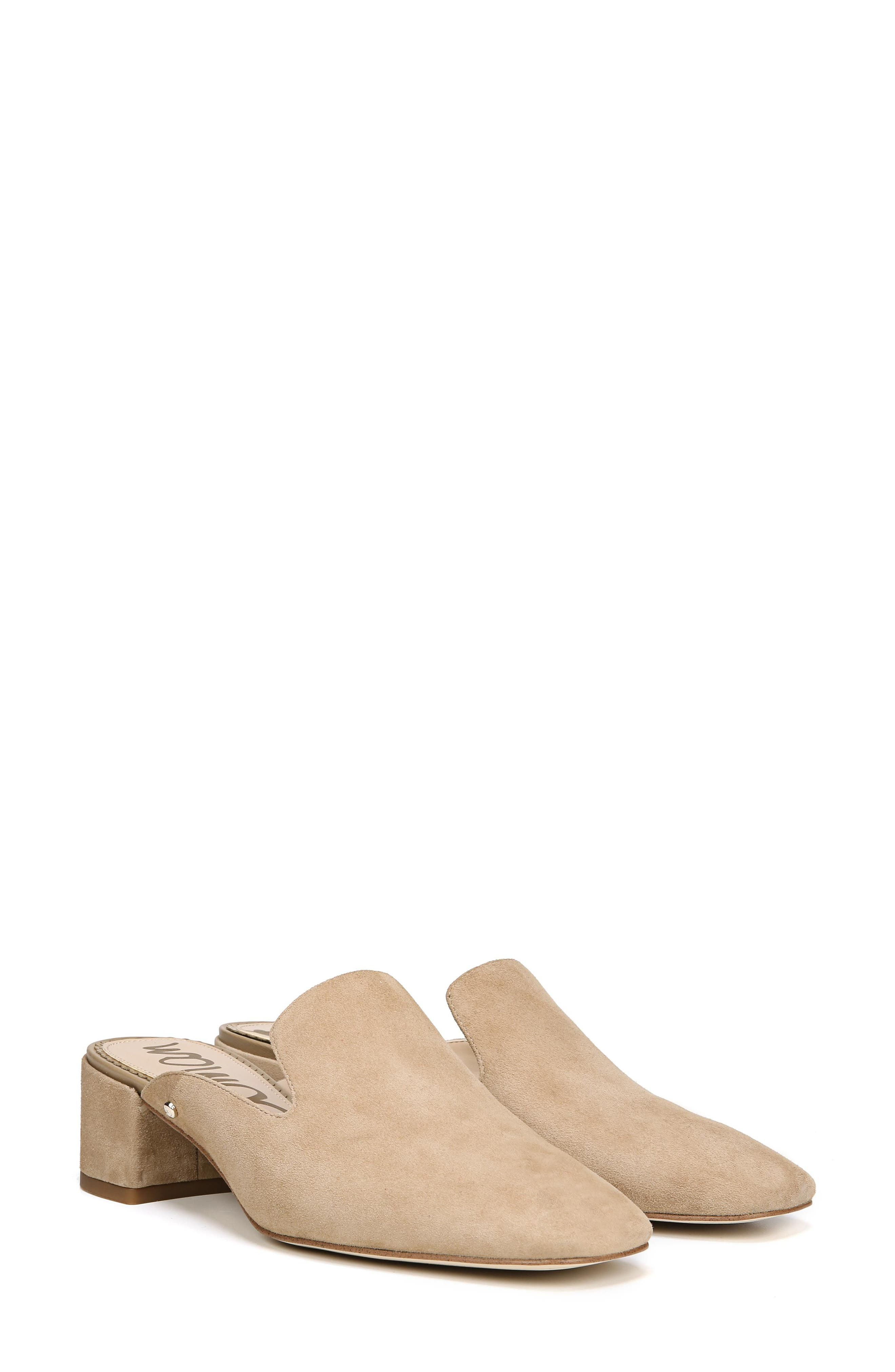 Adair Loafer Mule,                             Alternate thumbnail 7, color,                             OATMEAL LEATHER