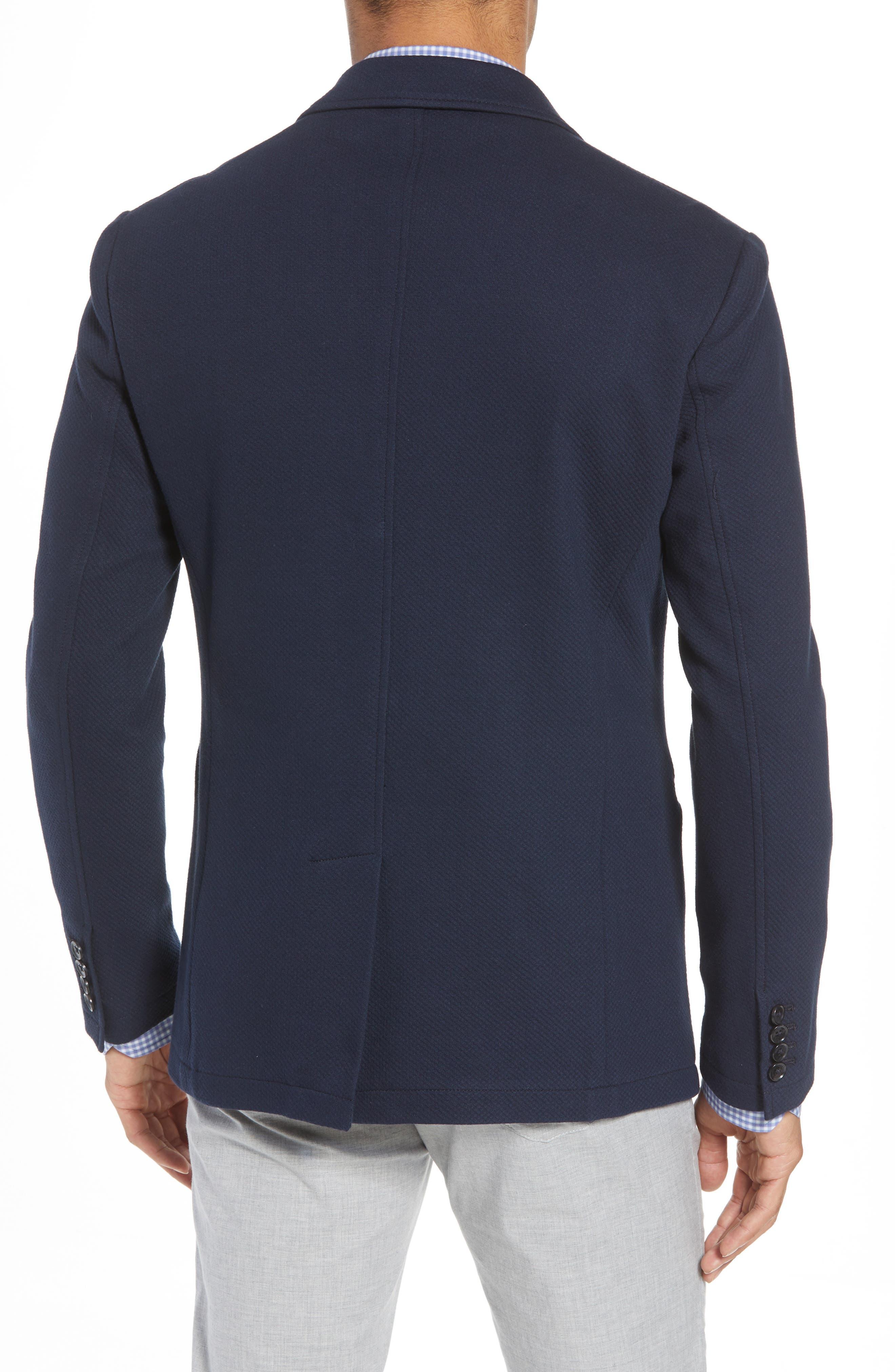 Baylor Regular Fit Knit Sport Coat,                             Alternate thumbnail 2, color,                             410