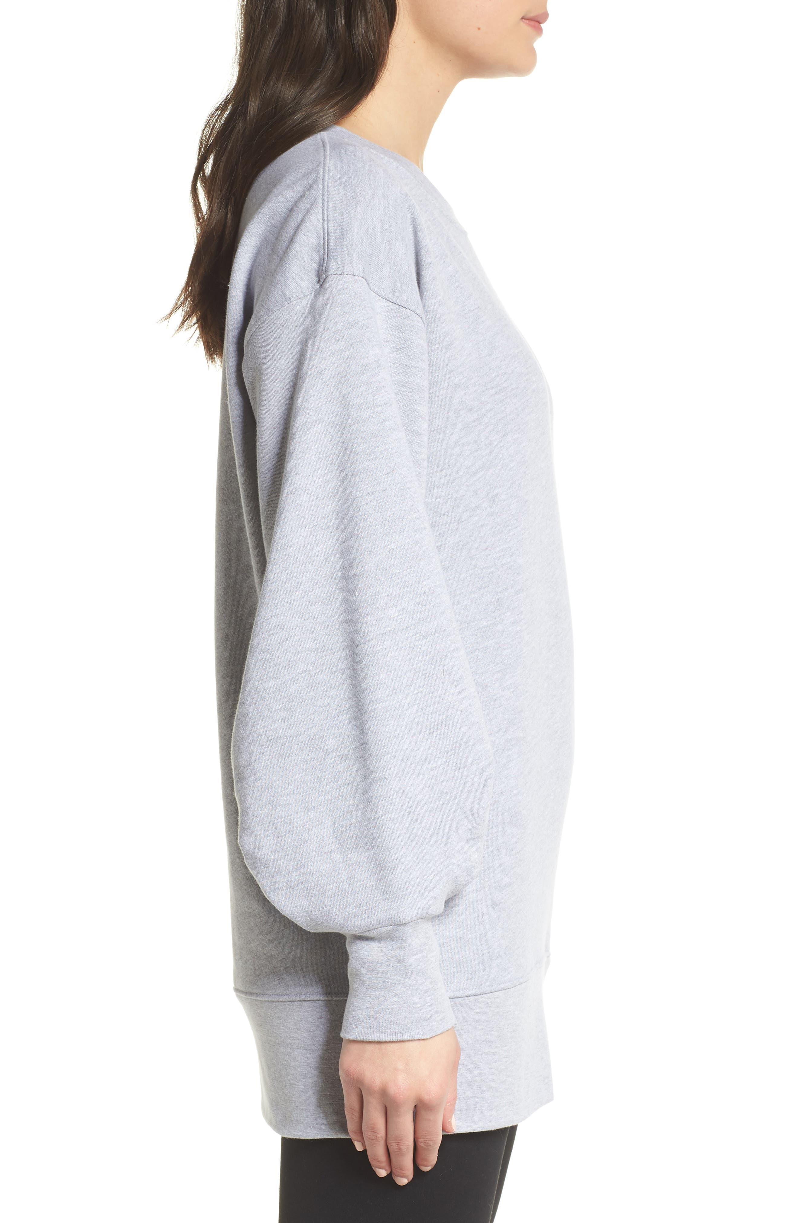Boxy Oversize Sweatshirt,                             Alternate thumbnail 10, color,