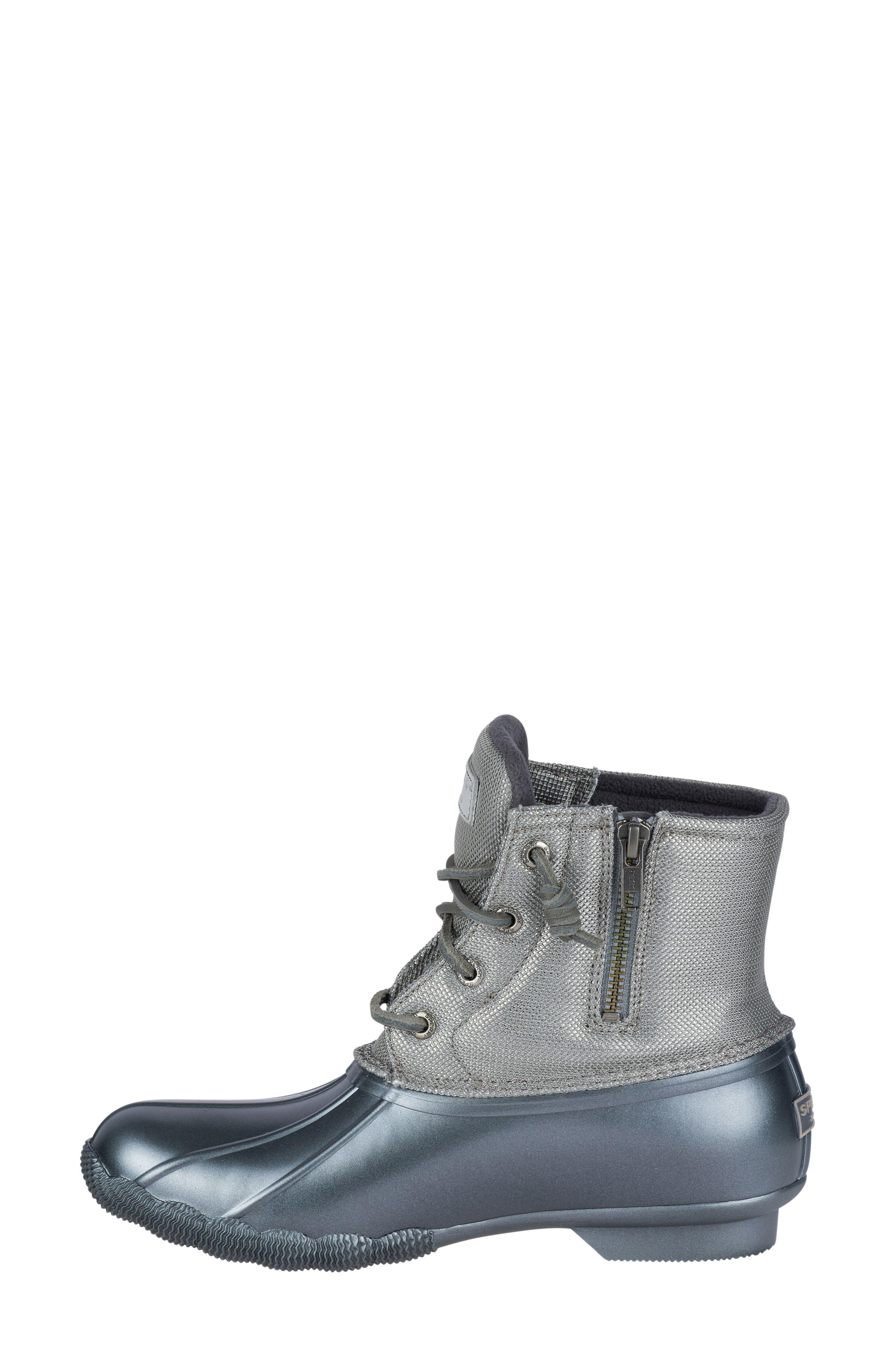 'Saltwater' Waterproof Rain Boot,                             Alternate thumbnail 70, color,