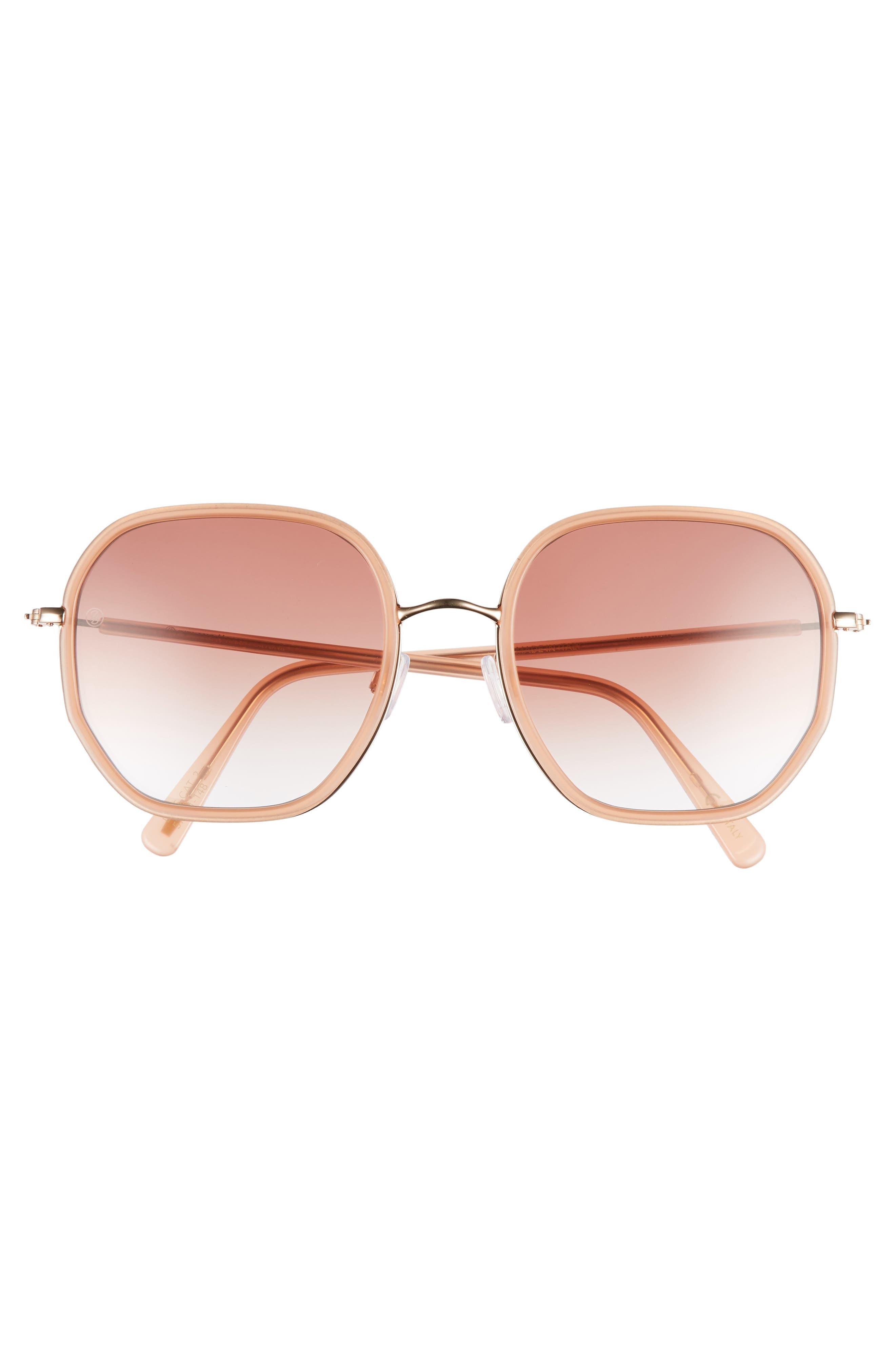 D'BLANC Rare Fortune 57mm Sunglasses,                             Alternate thumbnail 3, color,                             650