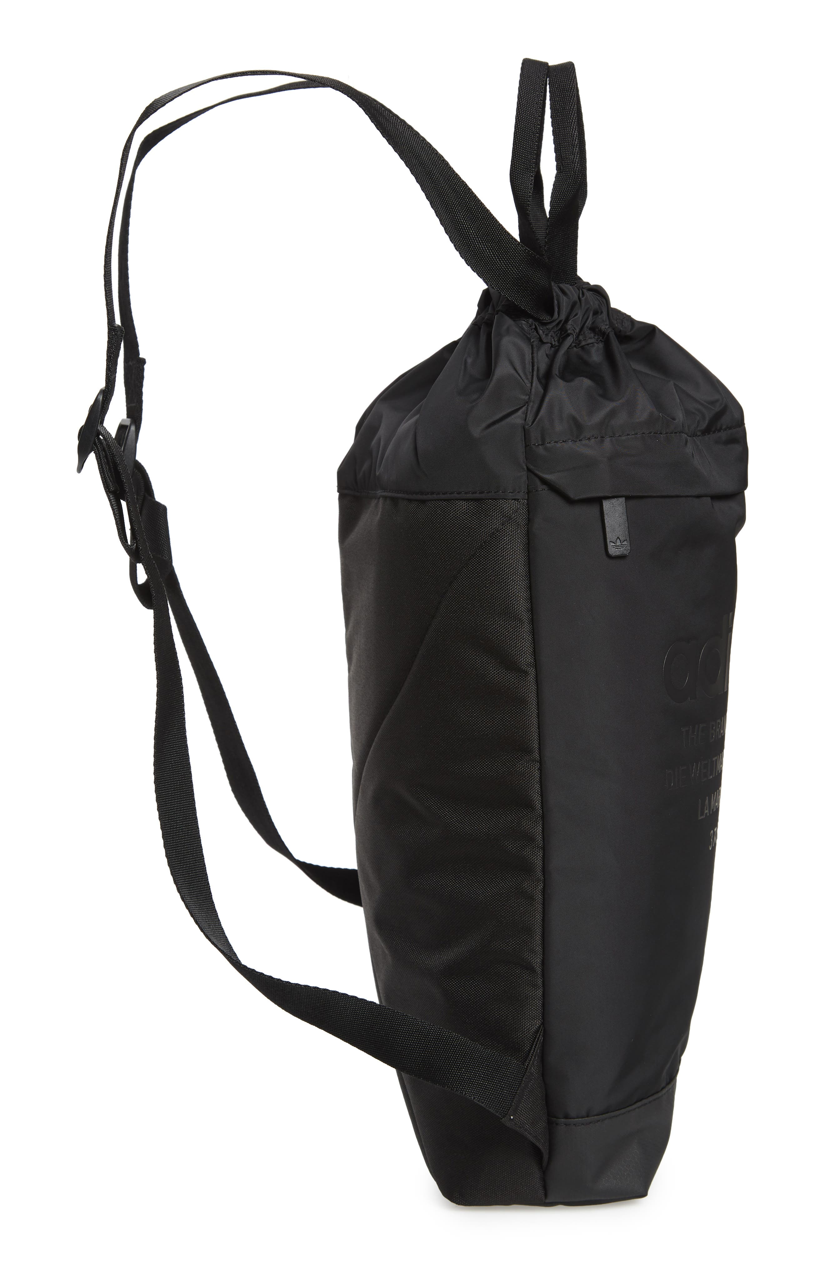 NMD Sack Pack,                             Alternate thumbnail 7, color,                             BLACK
